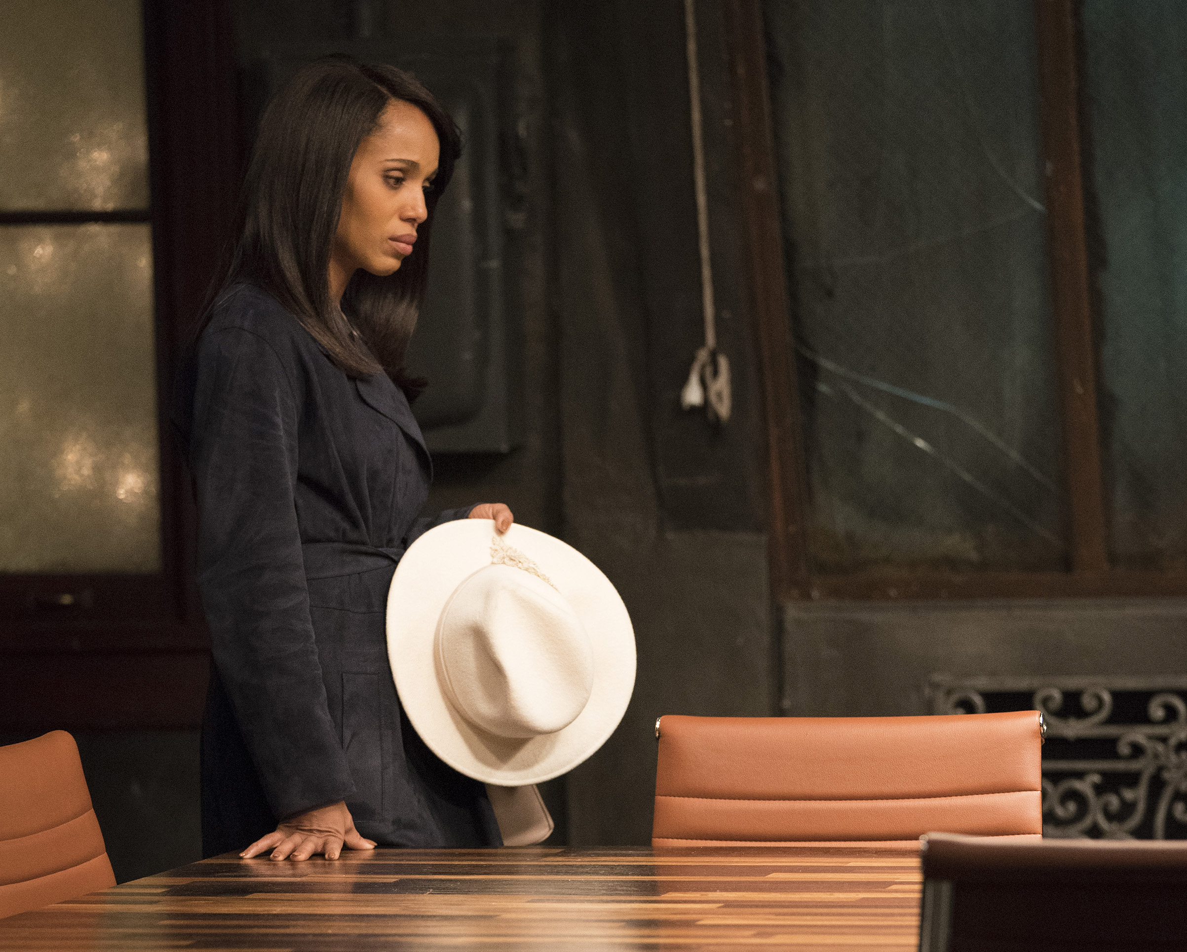 Kerry Washington as Olivia Pope in Scandal