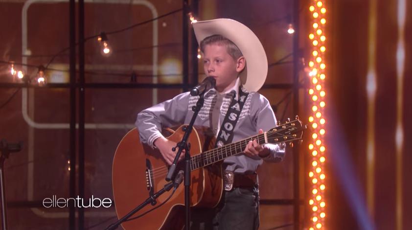 Mason Ramsey, the  Walmart yodeling kid,  performs on  The Ellen DeGeneres Show