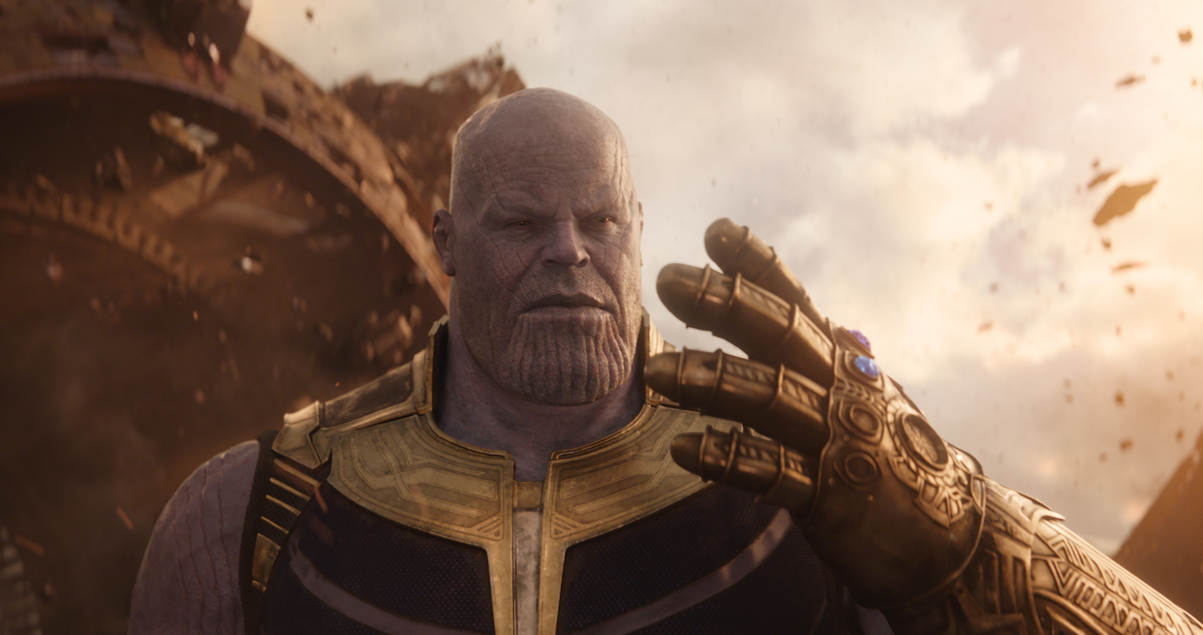 Thanos (Josh Brolin) in Marvel Studios' AVENGERS: INFINITY WAR