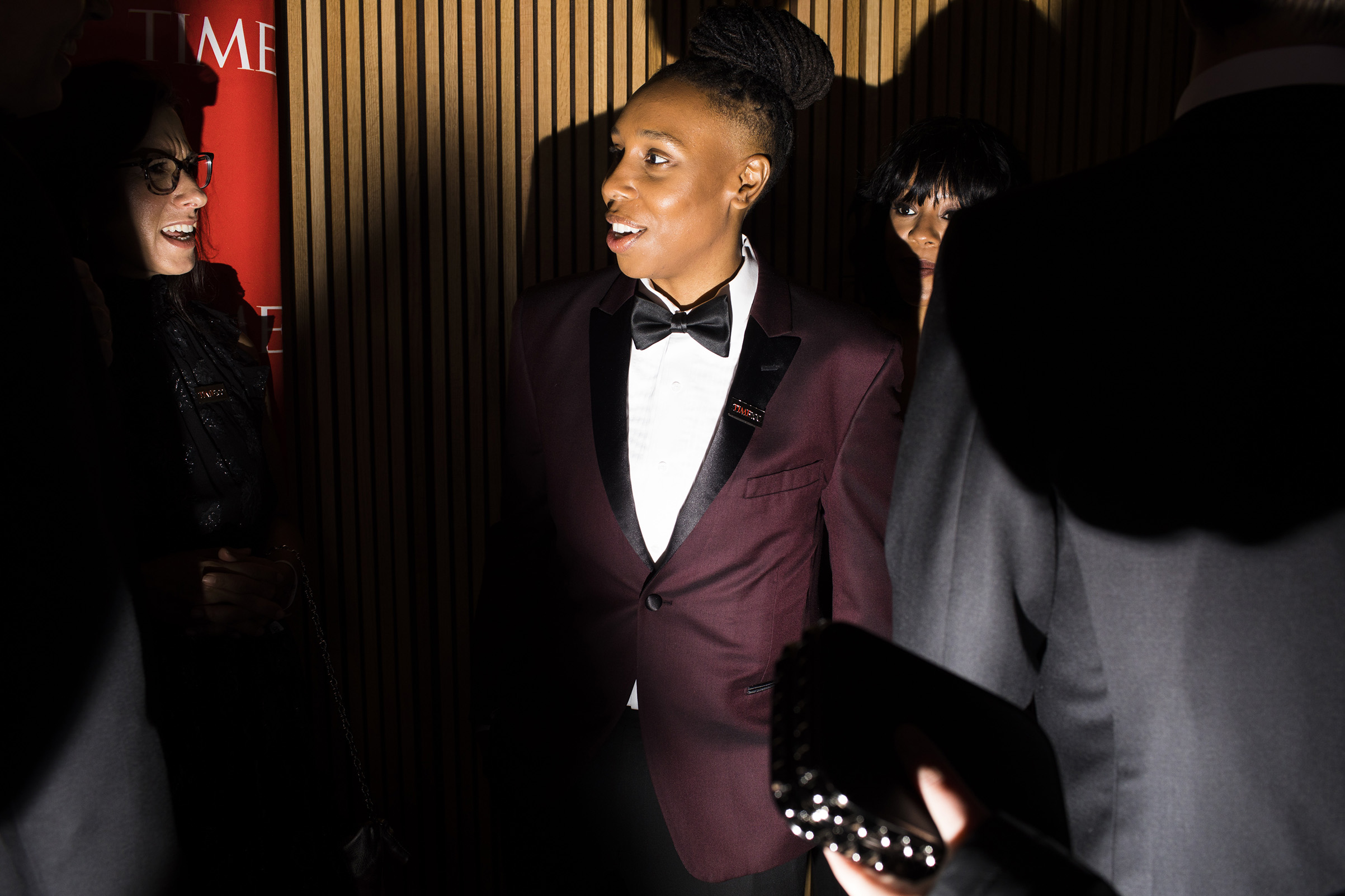Lena Waithe at the Time 100 Gala at Jazz at Lincoln Center on April 24, 2018 in New York City.