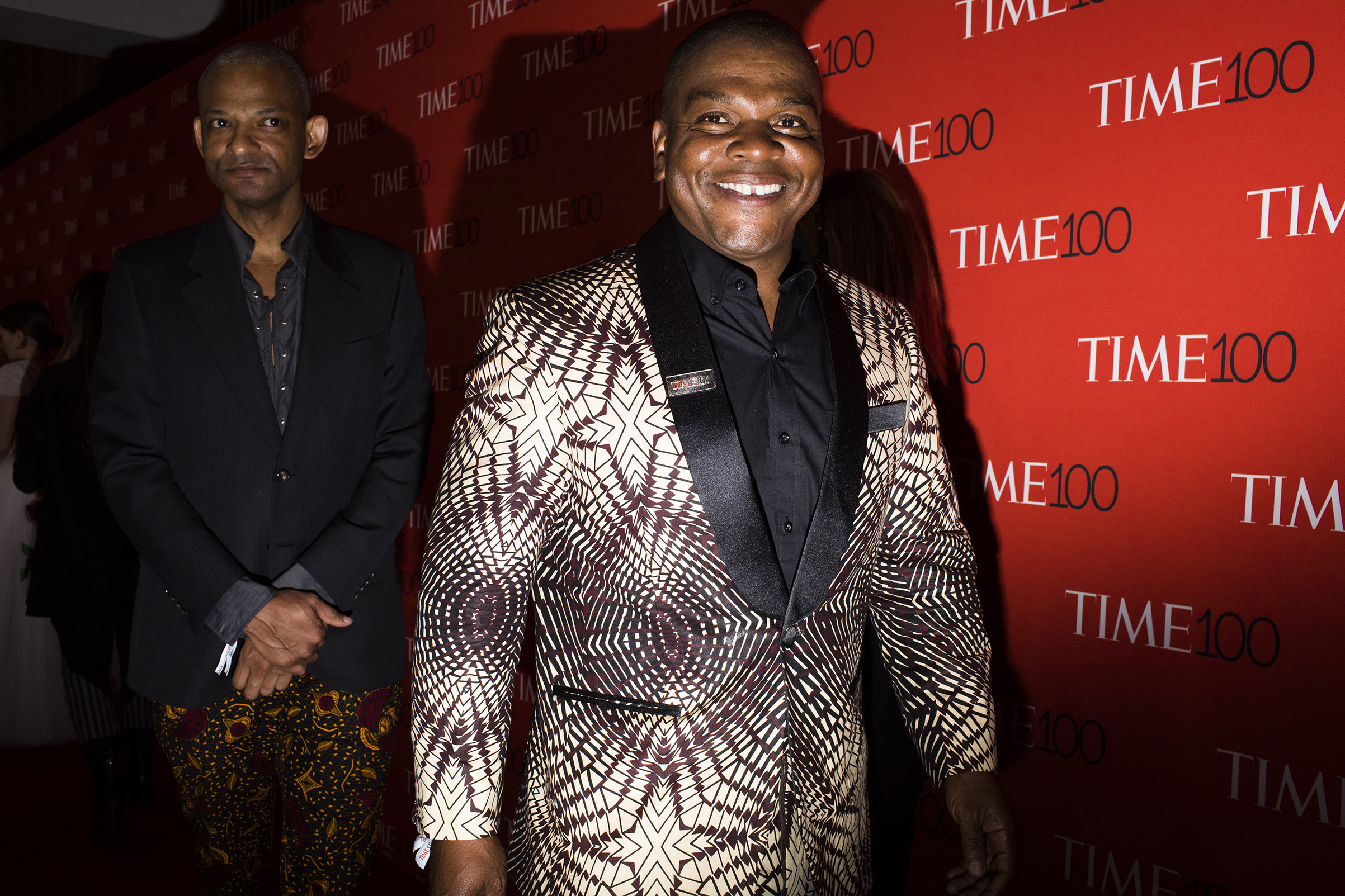 Portrait painter Kehinde Wiley at the Time 100 Gala at Jazz at Lincoln Center on April 24, 2018 in New York City.