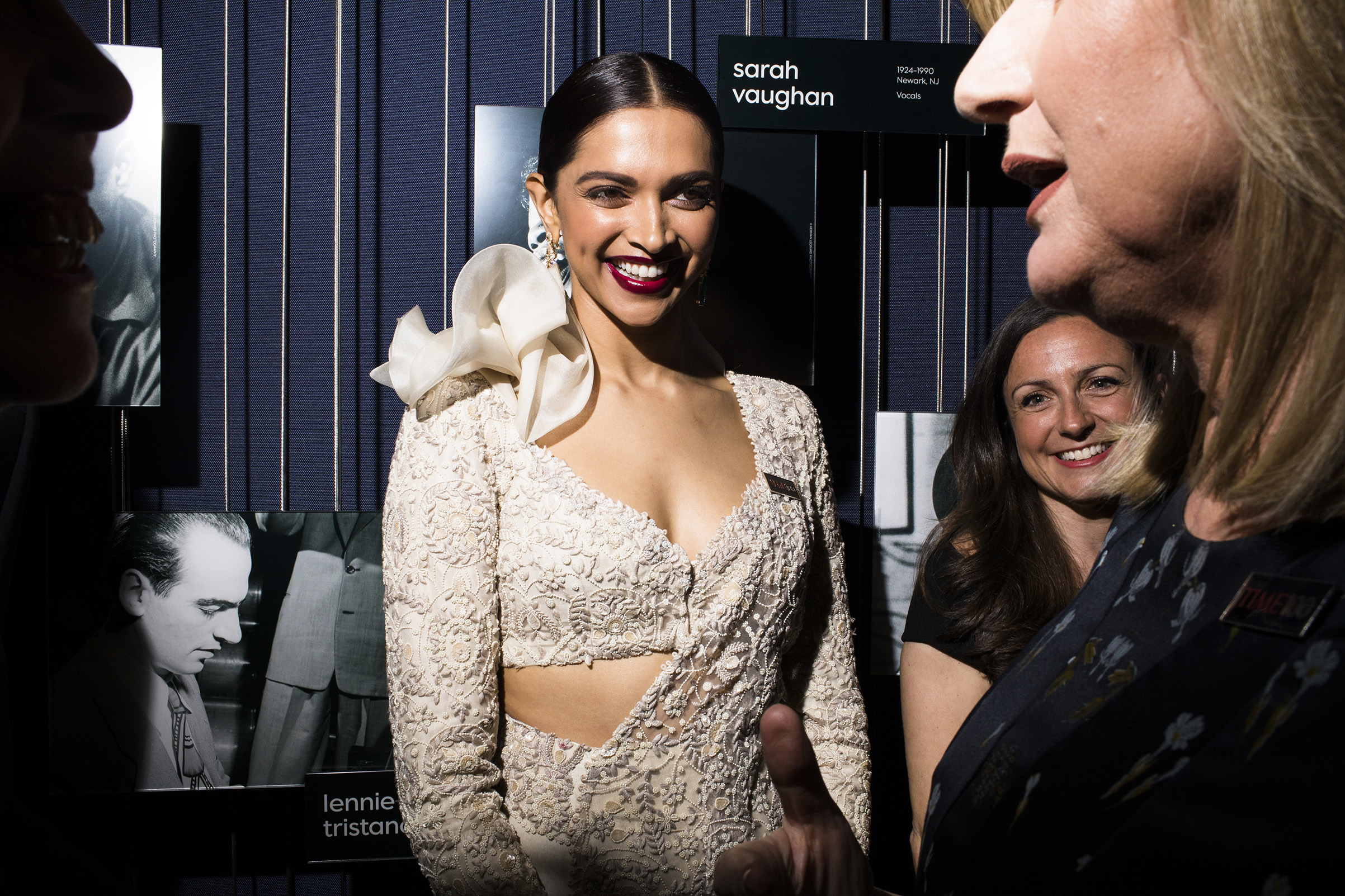Deepika Padukone at the Time 100 Gala at Jazz at Lincoln Center on April 24, 2018 in New York City.