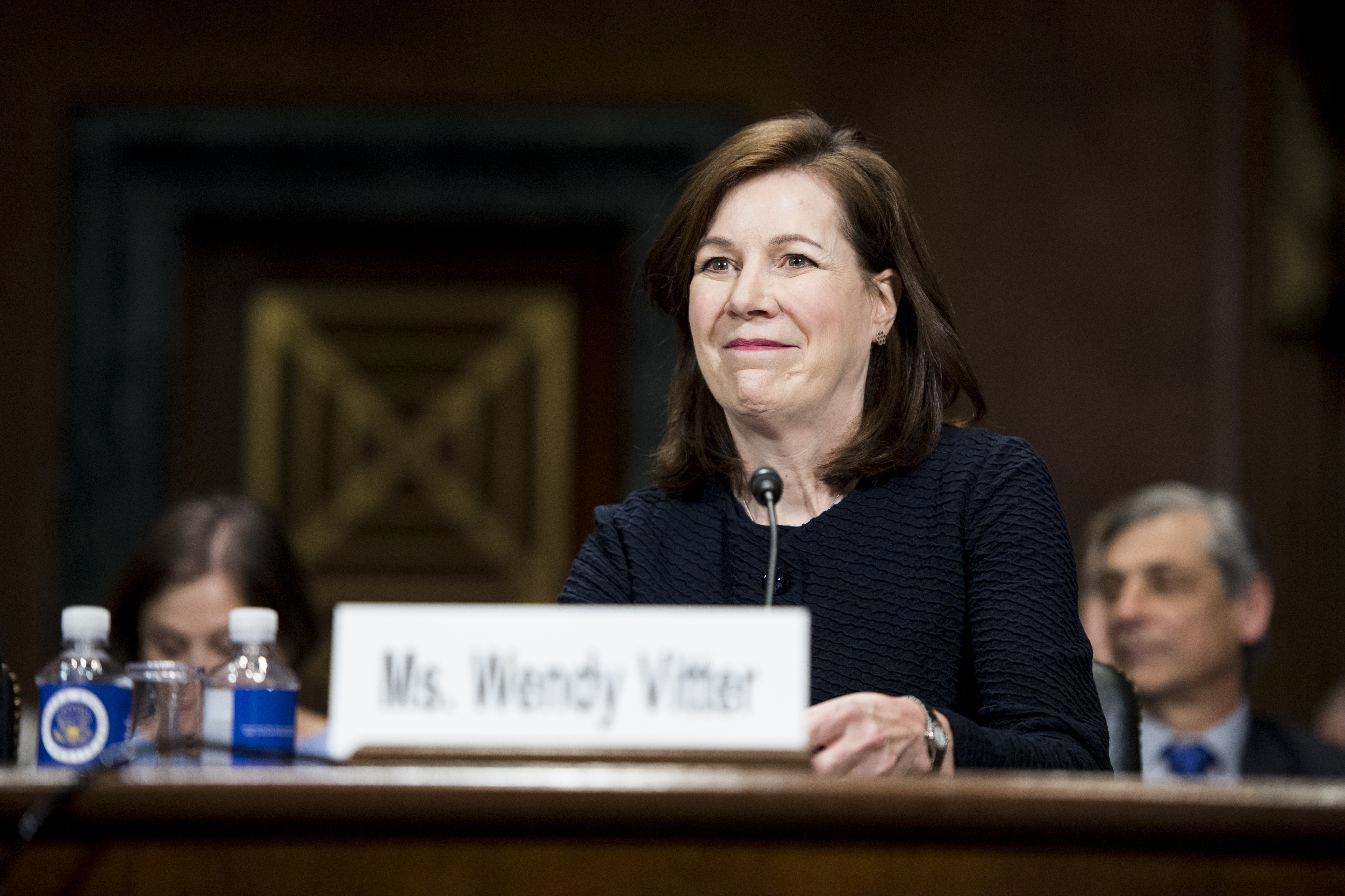 Wendy Vitter, wife of former Sen. David Vitter, testifies during her confirmation hearing in the Senate Judiciary Committee to be United States District Judge for the Eastern District of Louisiana on Wednesday, April 11, 2018.
