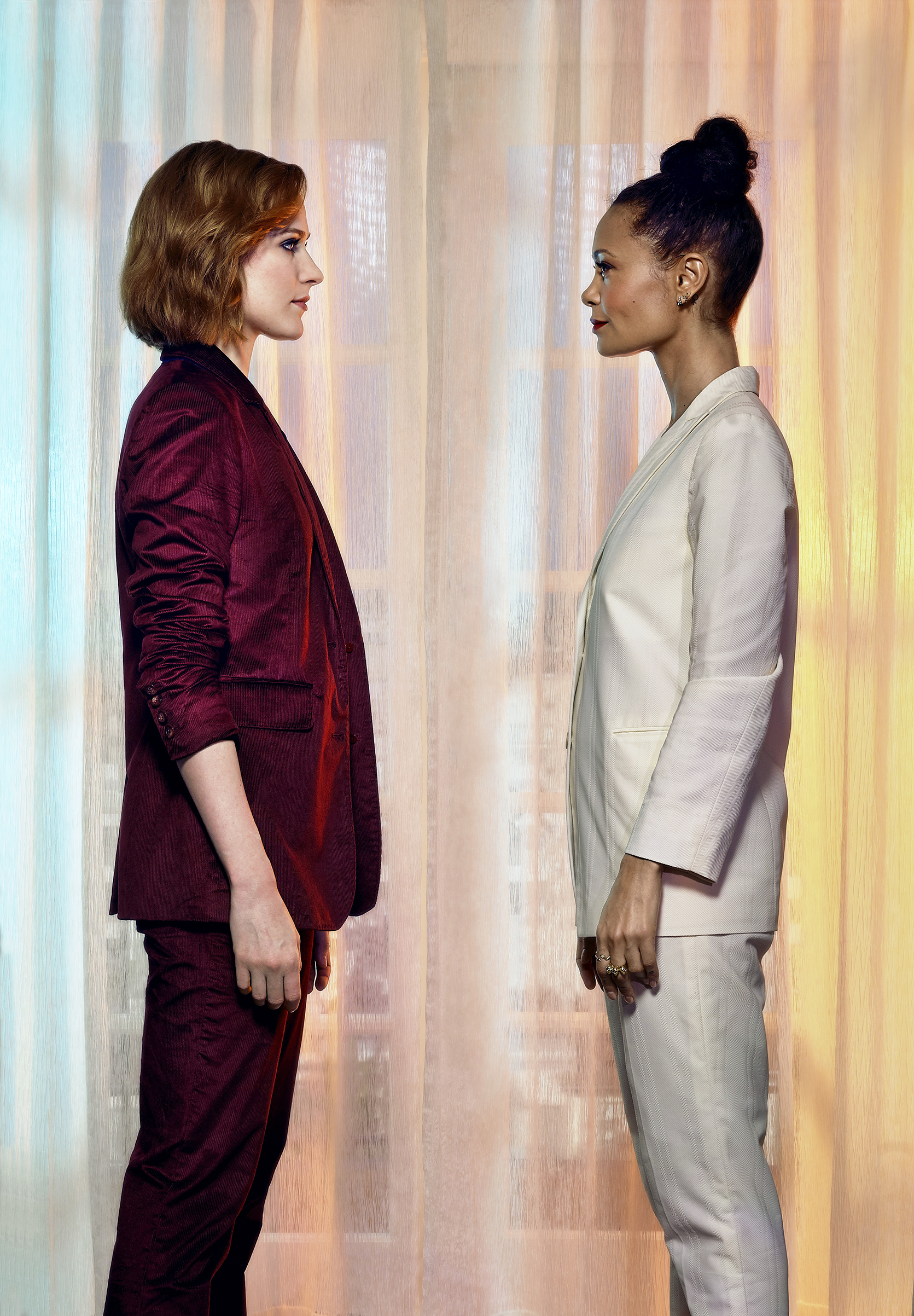 Actors Evan Rachel Wood and Thandie Newton have found new power in HBO's prescient Westworld