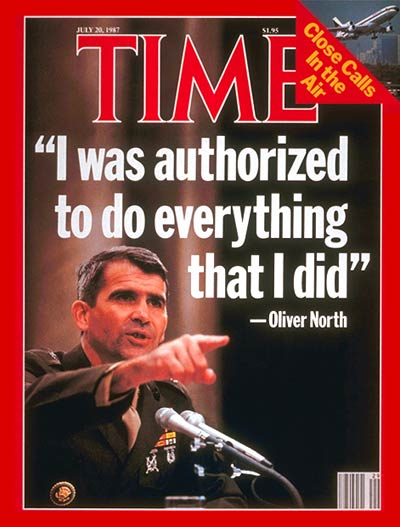 New NRA President: What to Know on Oliver North, Iran-Contra | Time