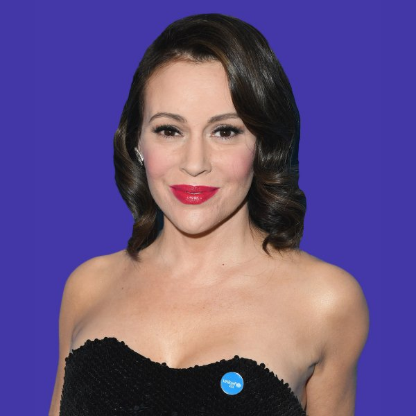 Alyssa Milano, anxiety order during pregnancy
