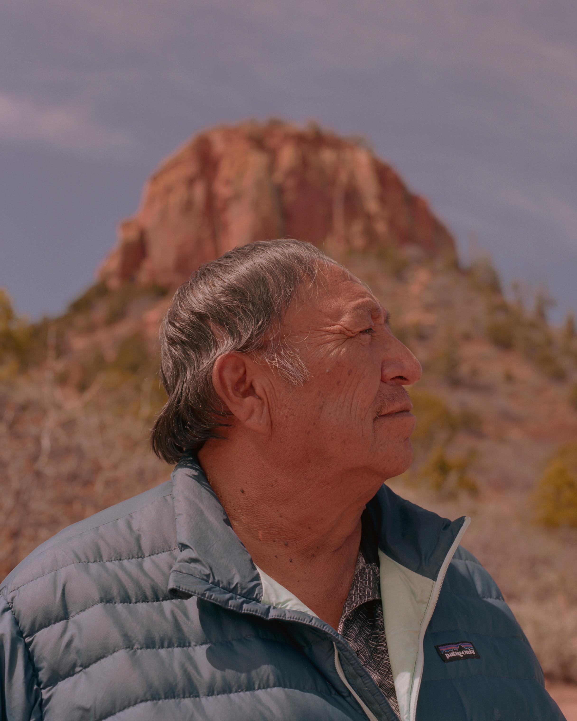 Jonah Yellowman, a Navajo medicine man, is a spiritual adviser to Utah Diné Bikéyah. That work includes activities like organizing a traditional ceremony to bless the lawyers who are fighting the legality of Trump's order. Like many who live in the area, he also takes trips to Bears Ears to collect plants and herbs for traditional and ceremonial use.