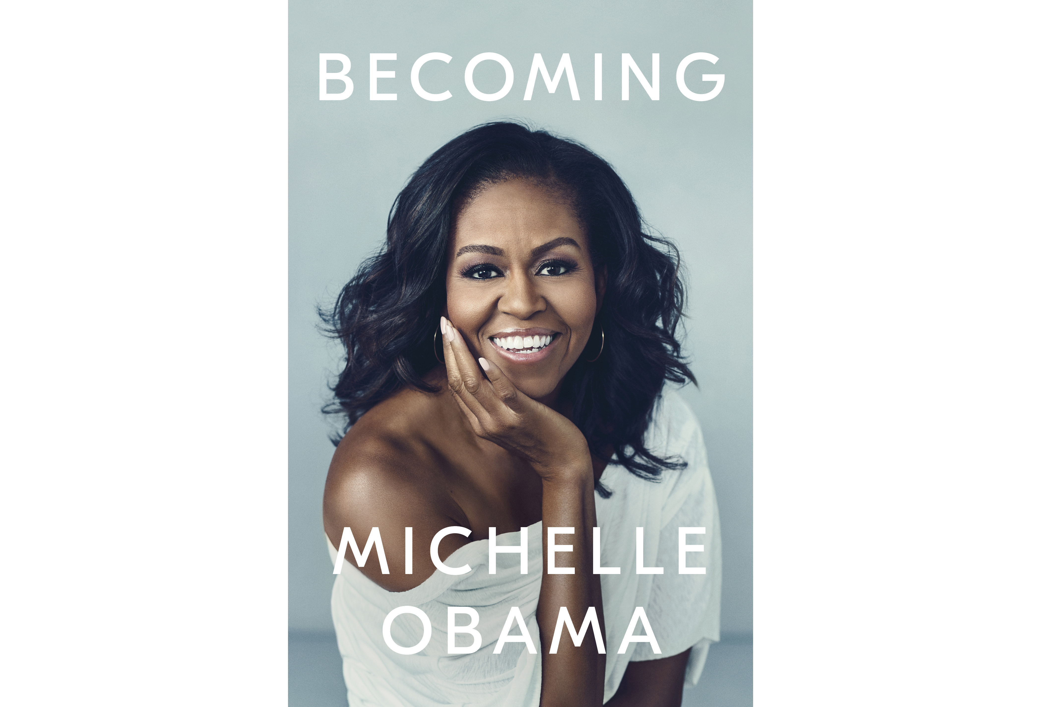 This cover image released by Crown Publishing Group shows  Becoming,  by Michelle Obama, which comes out Nov. 13.