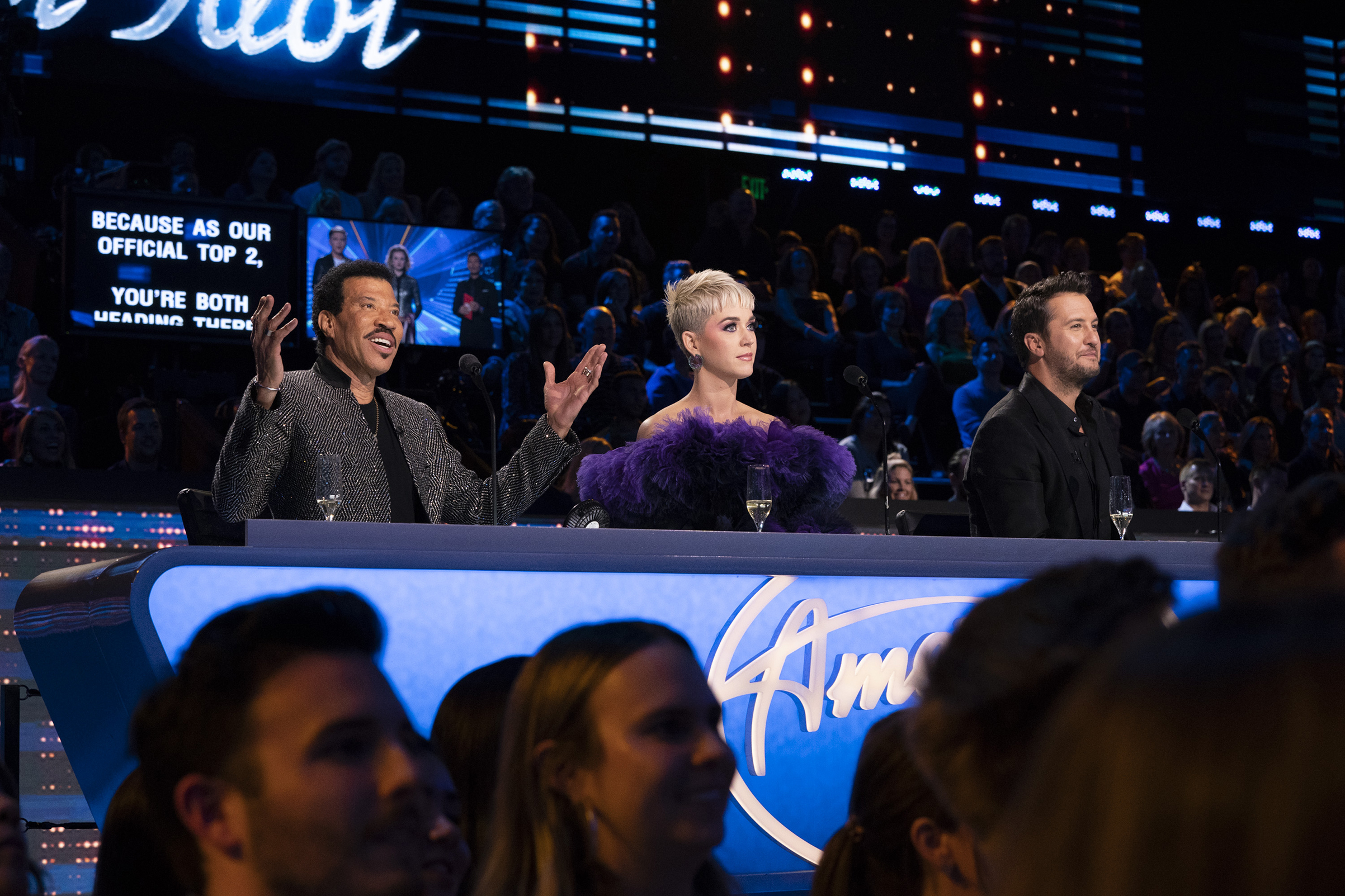'American Idol' Judges Lionel Ritchie, Katy Perry and Luke Bryan
