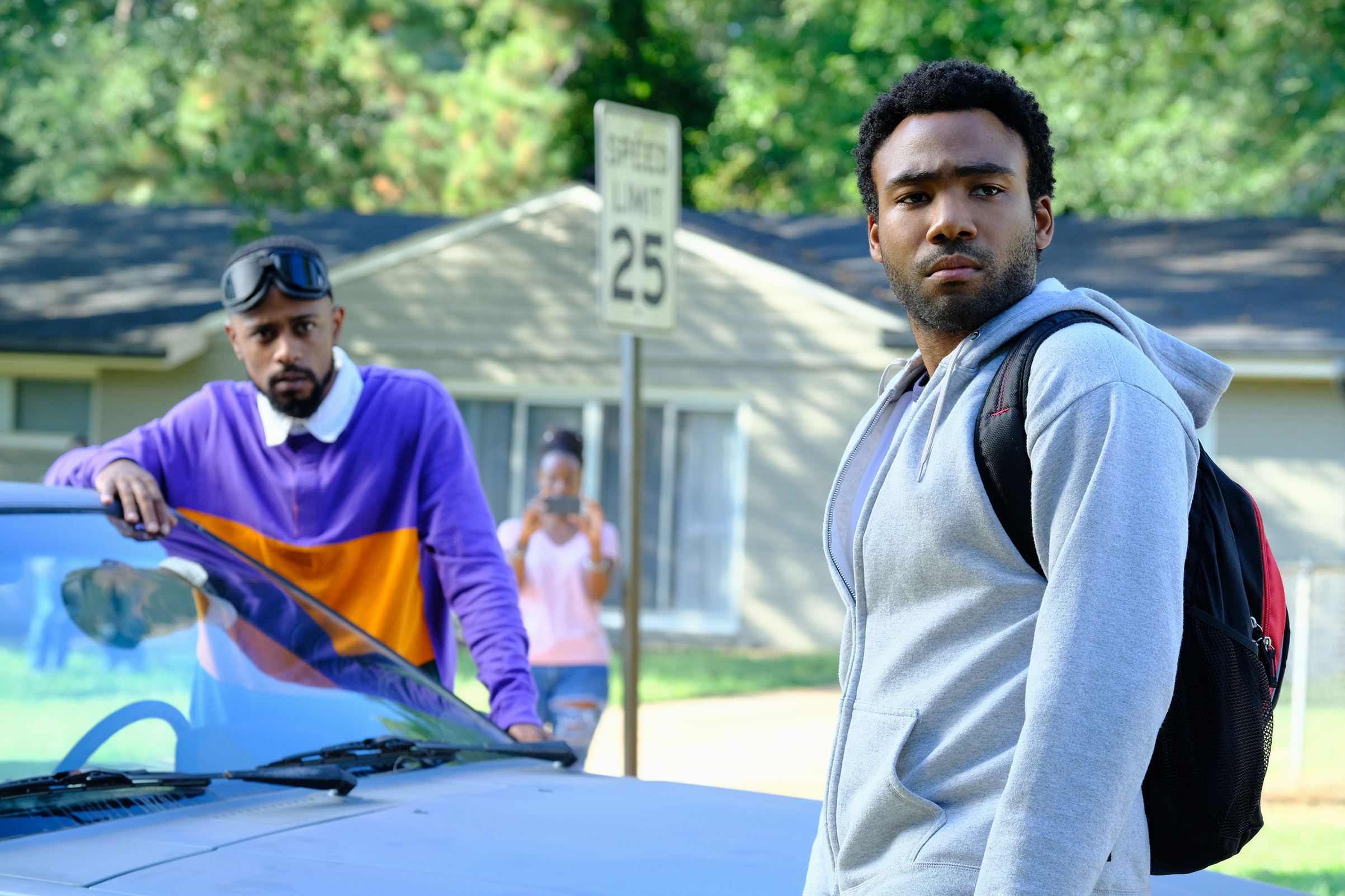 Lakeith Stanfield and Donald Glover in 'Atlanta' Season 2