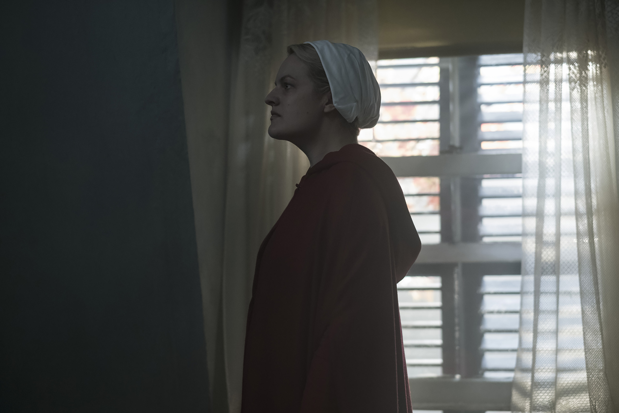 Elisabeth Moss in Season 2 of 'The Handmaid's Tale'