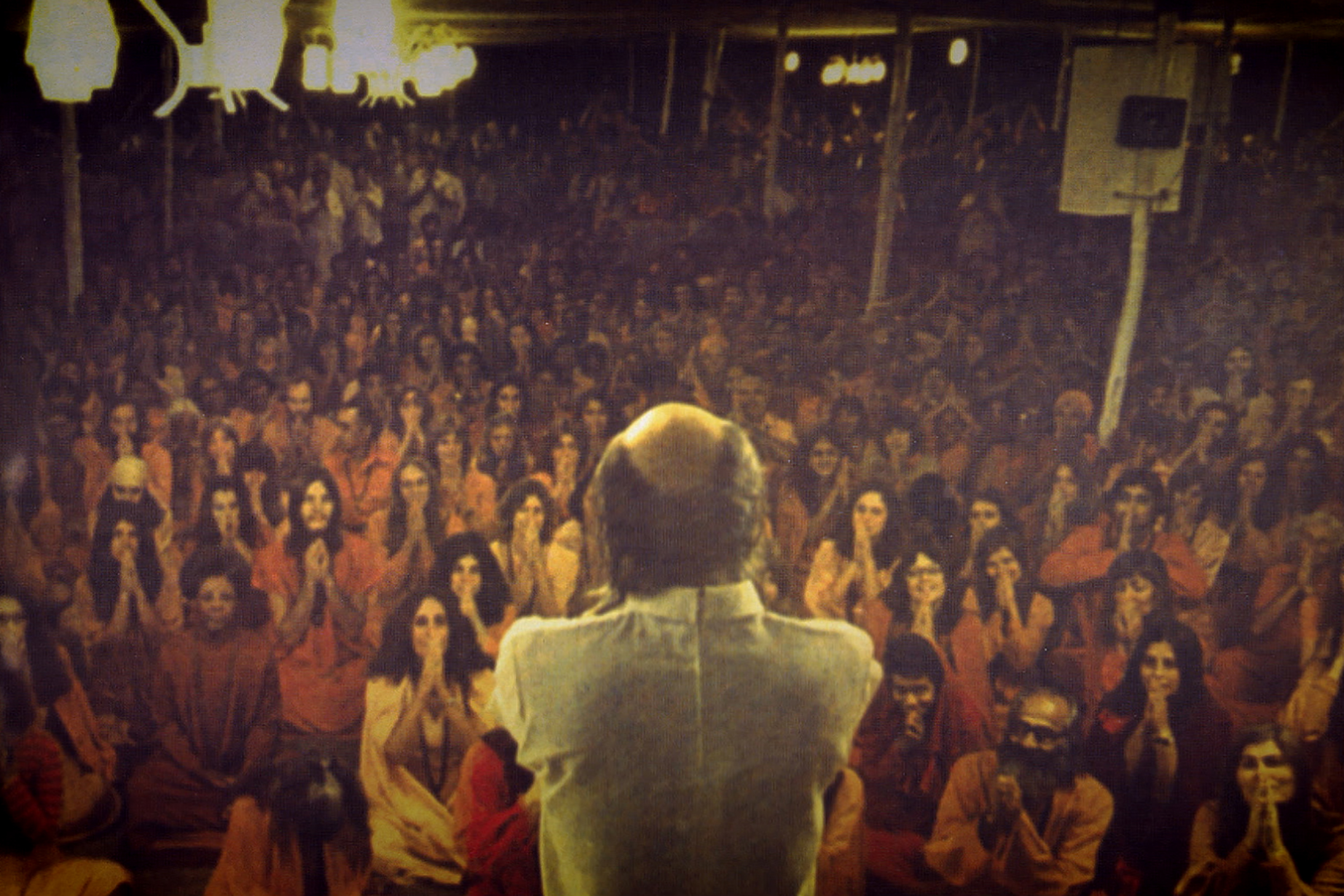 A still from the Netflix docuseries 'Wild Wild Country'