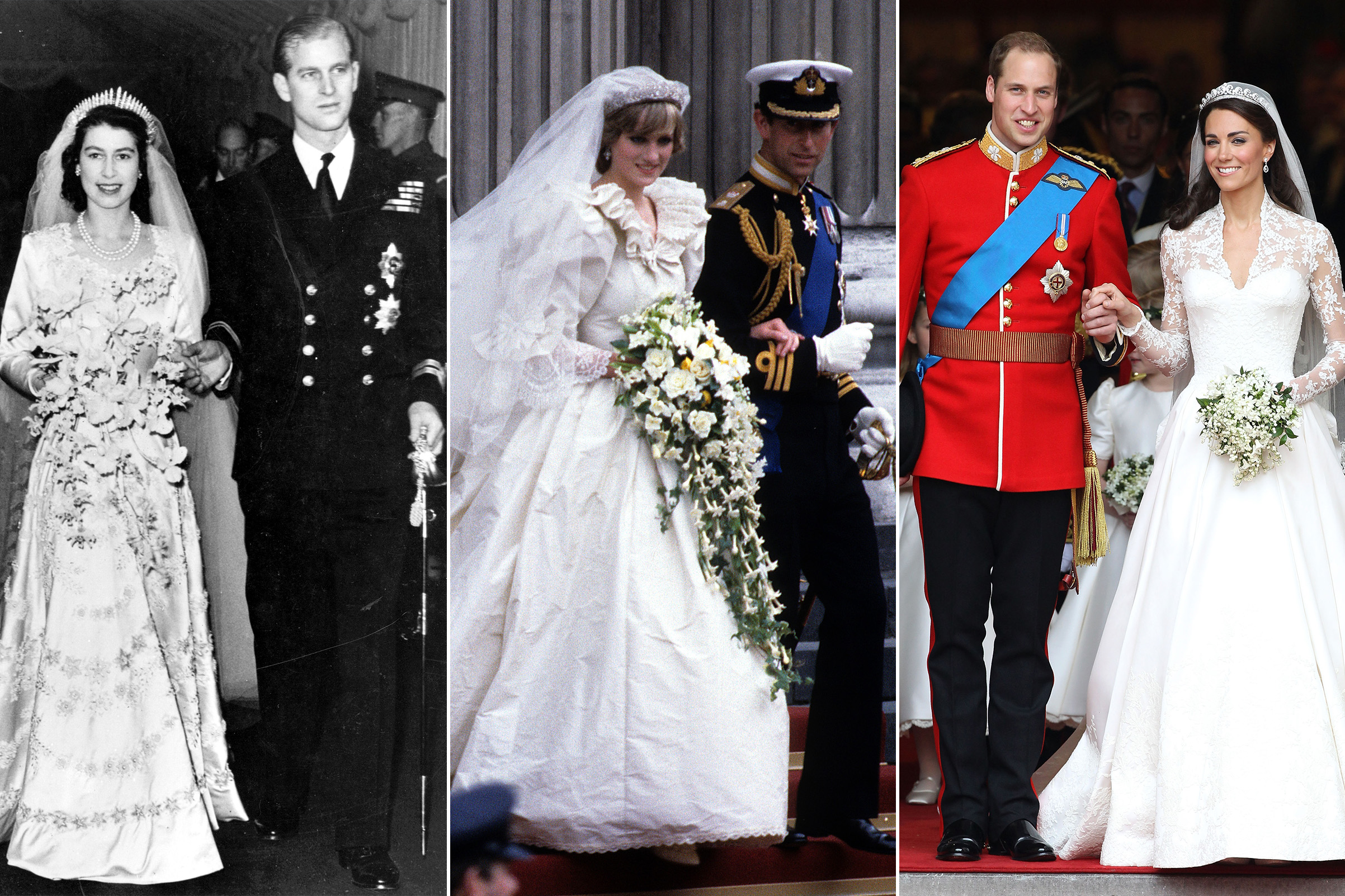 Best British Royal Wedding Dresses In History Photos Time