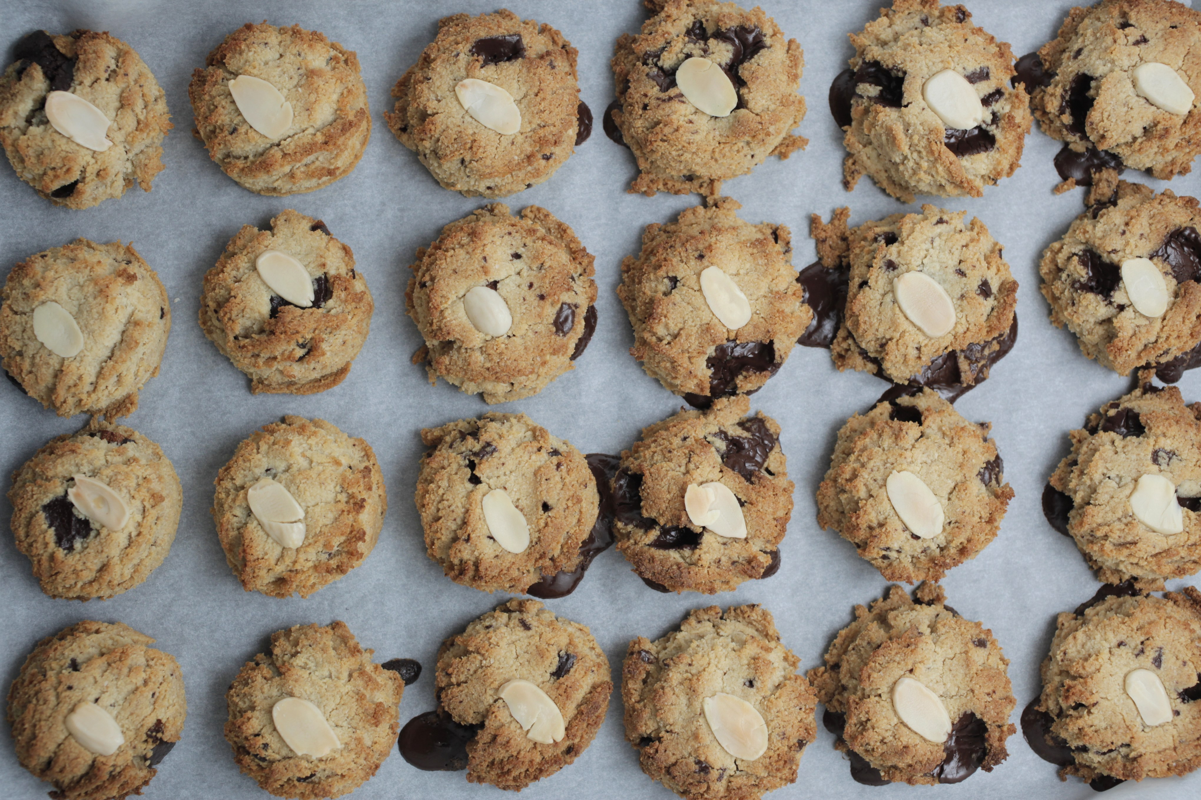 Healthy chocolate chip cookies recipe from Teresa Cutter of The Healthy Chef.