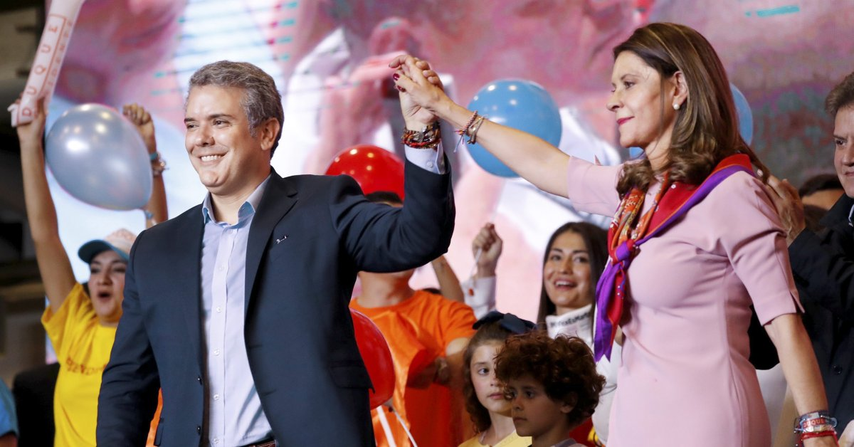 Ivan Duque Is Colombia's Right Wing Answer to Macron