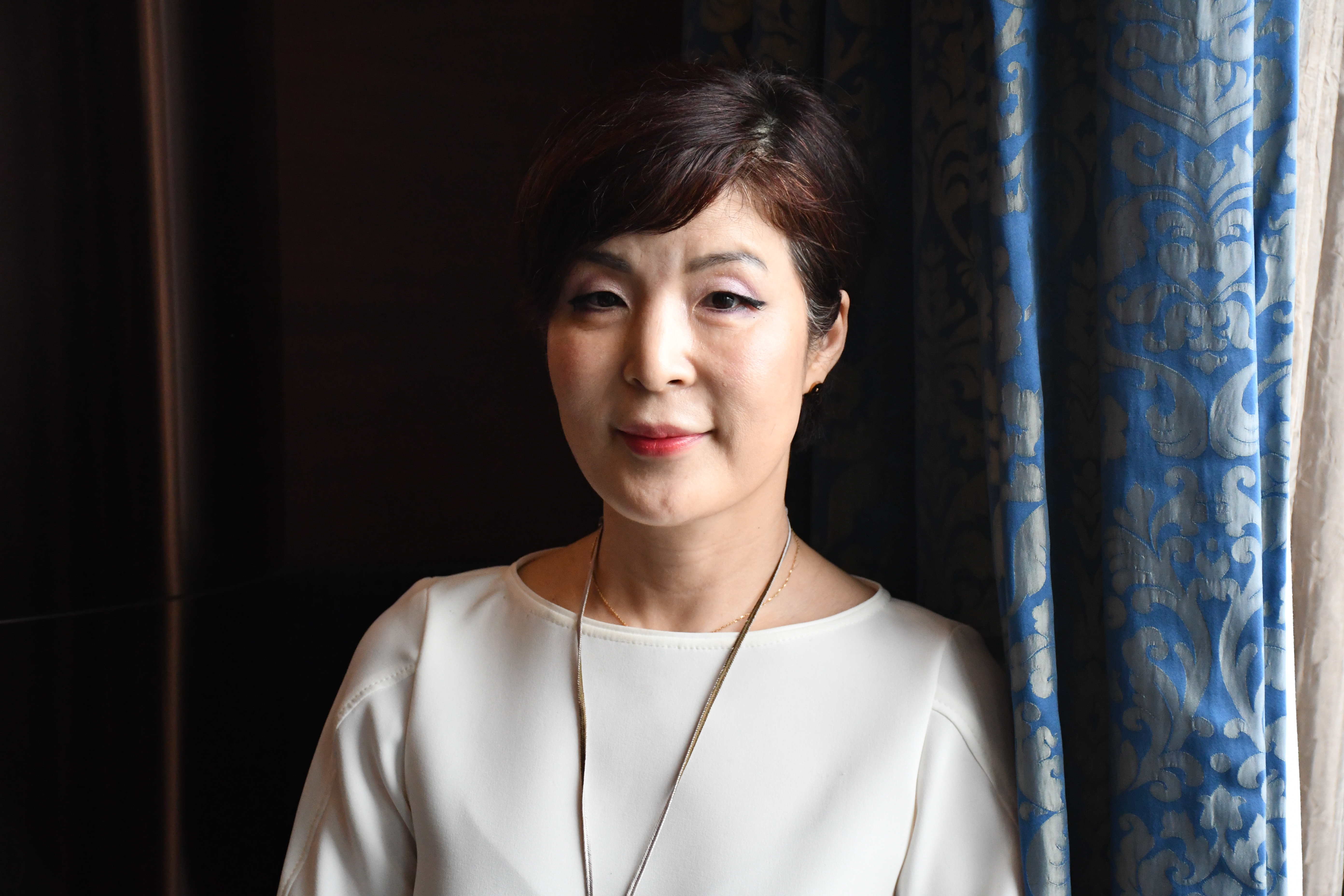 Enna Park, South Korea's deputy minister for foreign affairs, is pictured during her interview with TIME in Hong Kong on May 8, 2018. Park's four-day visit came on the invitation of the Asia Society Hong Kong Center.