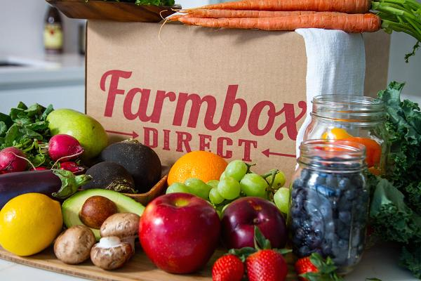Farmbox Direct produce.