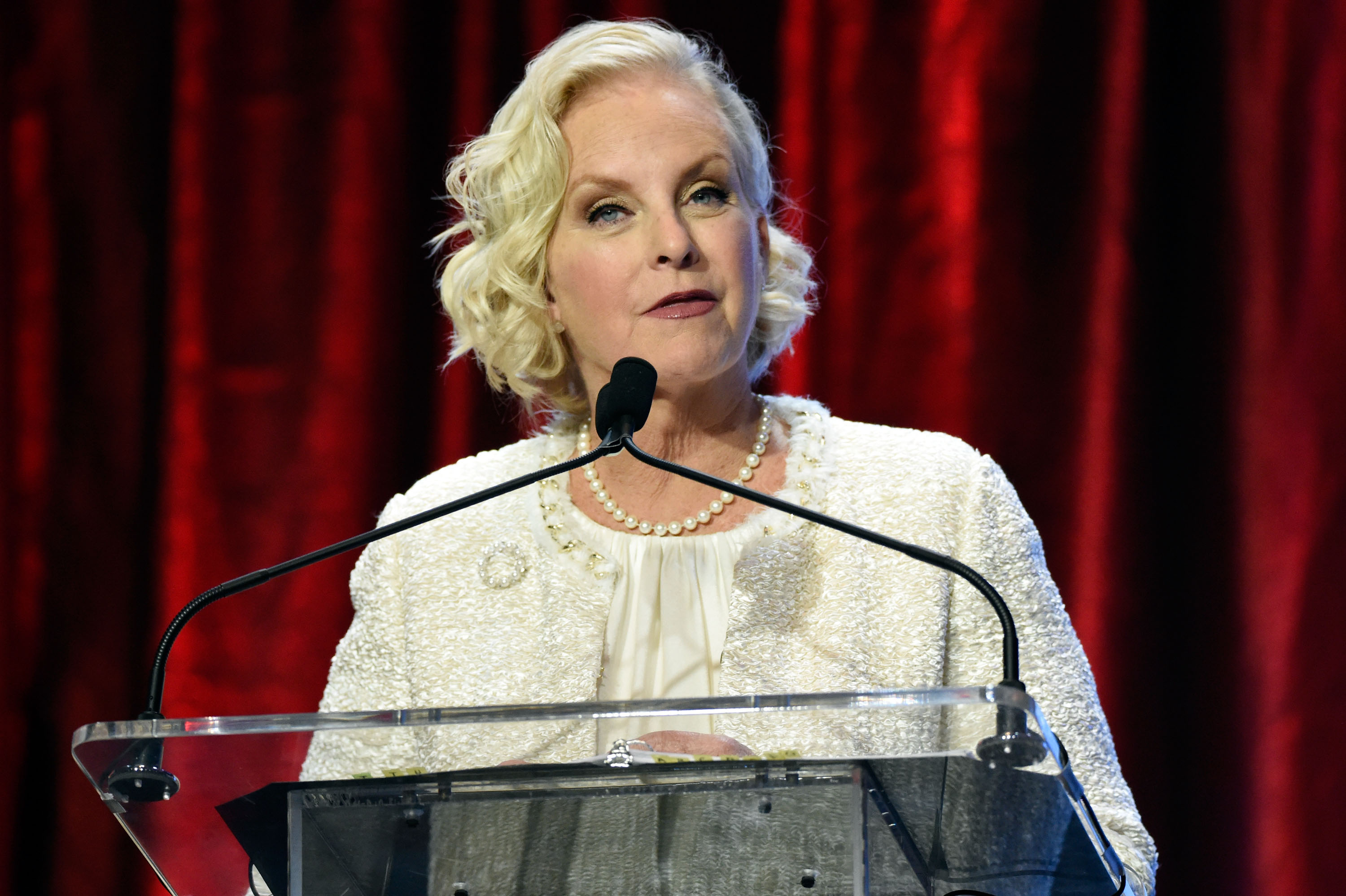 Cindy McCain attends the 2016 Muhammad Ali Humanitarian Awards in Louisville, Kentucky on Sept. 17, 2016.
