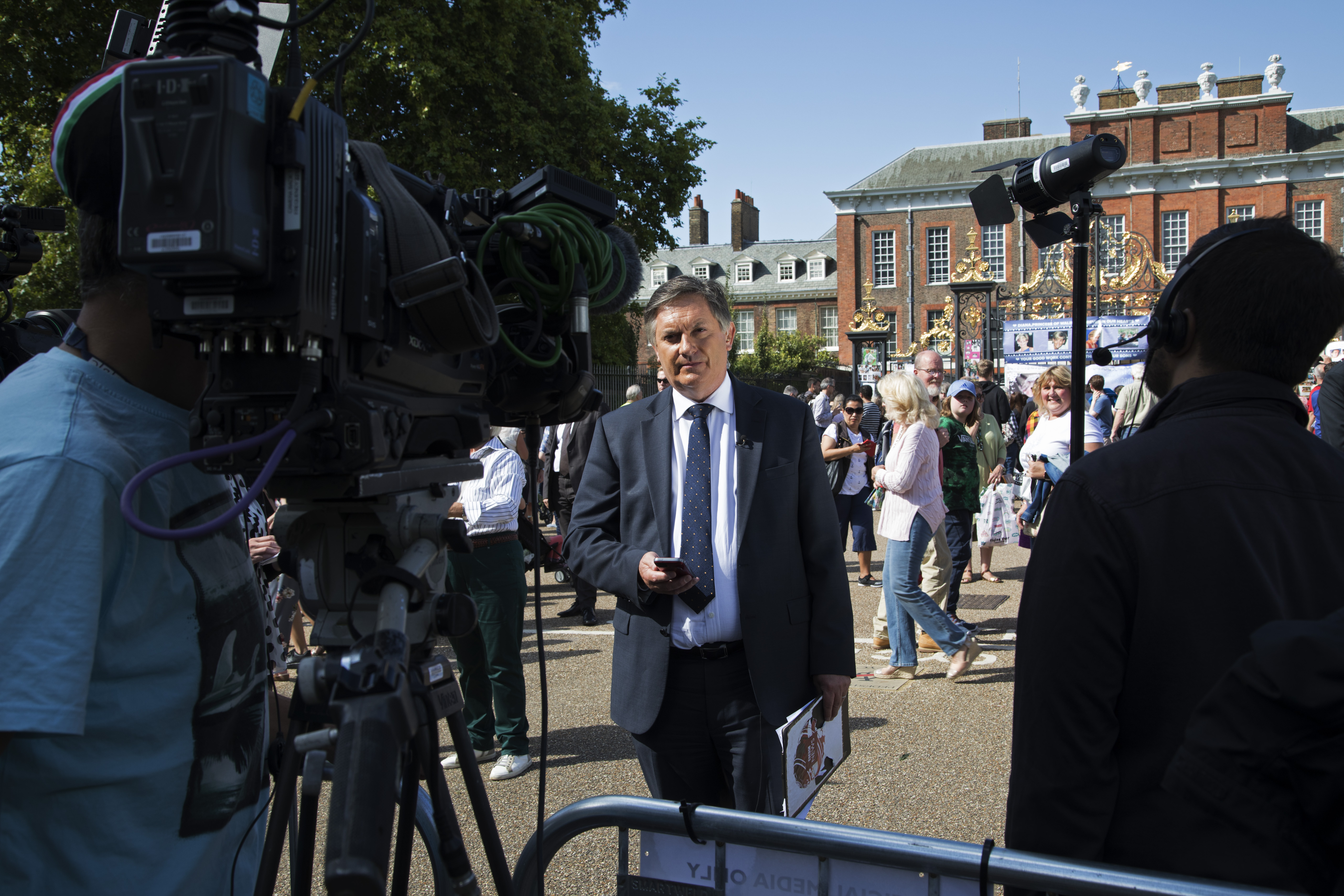 Clips of BBC Simon McCoy go viral all the time. (photo by Mike Kemp/In Pictures via Getty Images)