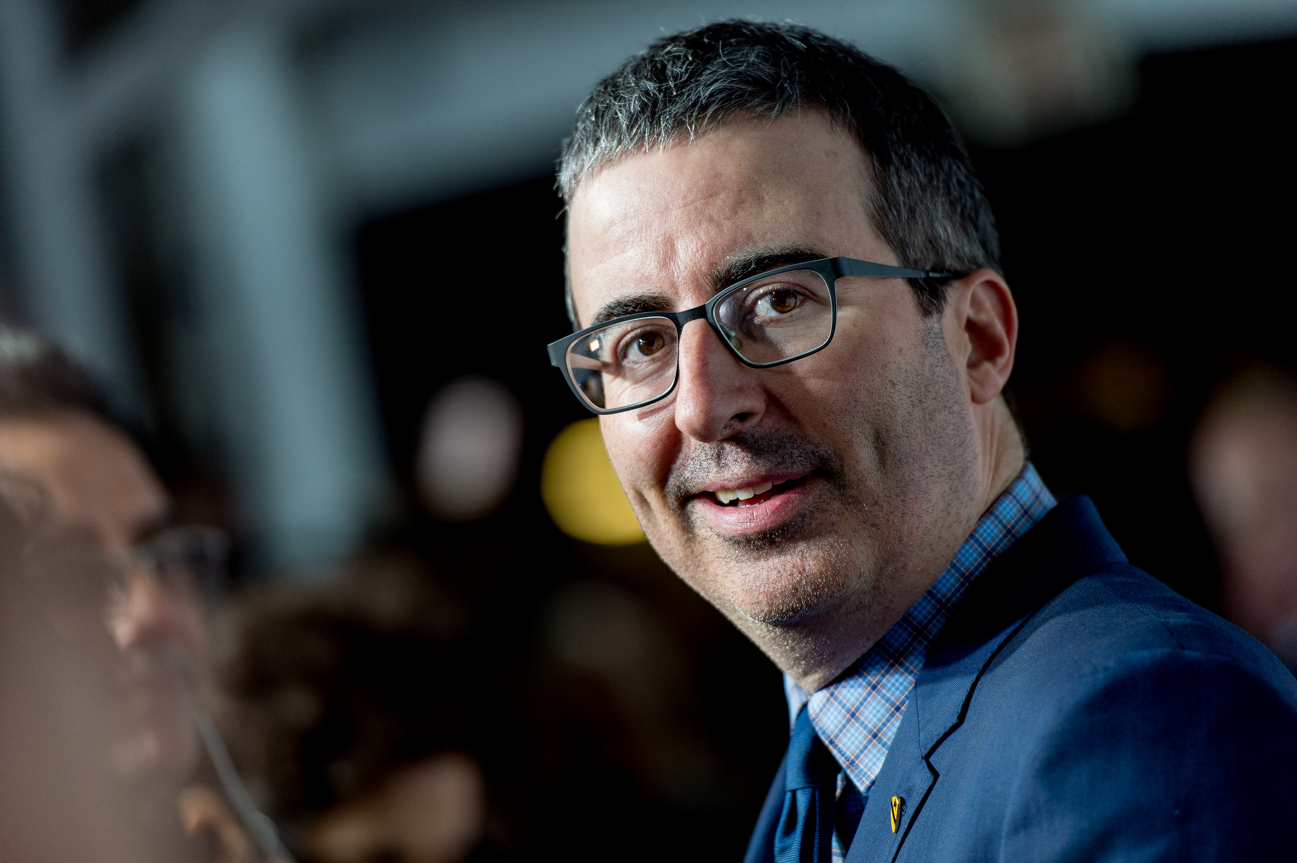 John Oliver attends the 11th Annual Stand Up for Heroes at The Theater at Madison Square Garden on November 7, 2017 in New York City.