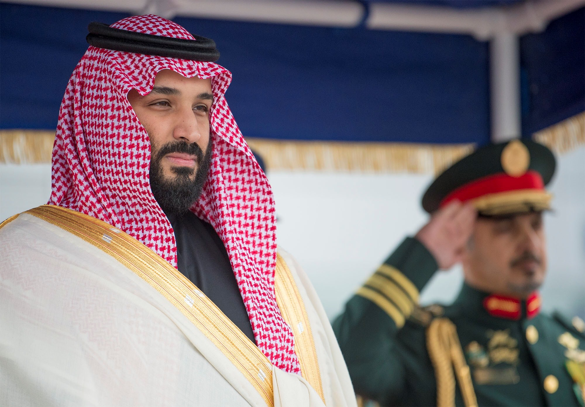 Crown Prince and Defense Minister of Saudi Arabia Mohammad bin Salman in London, England on March 9, 2018.