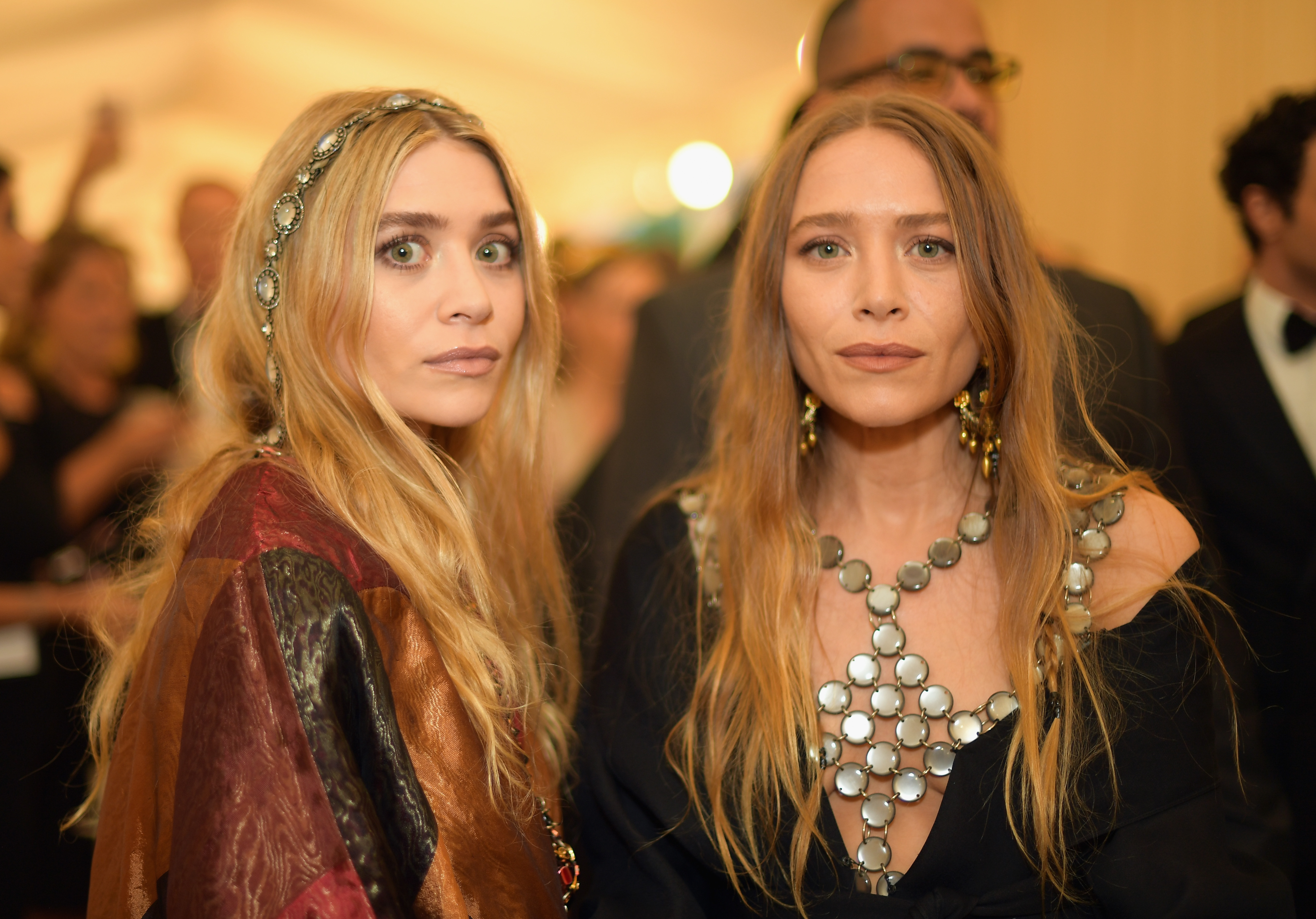 Ashley Olsen and Mary-Kate Olsen attend the Met Gala on May 7, 2018 in New York City.  (Photo by Matt Winkelmeyer/MG18/Getty Images for The Met Museum/Vogue)