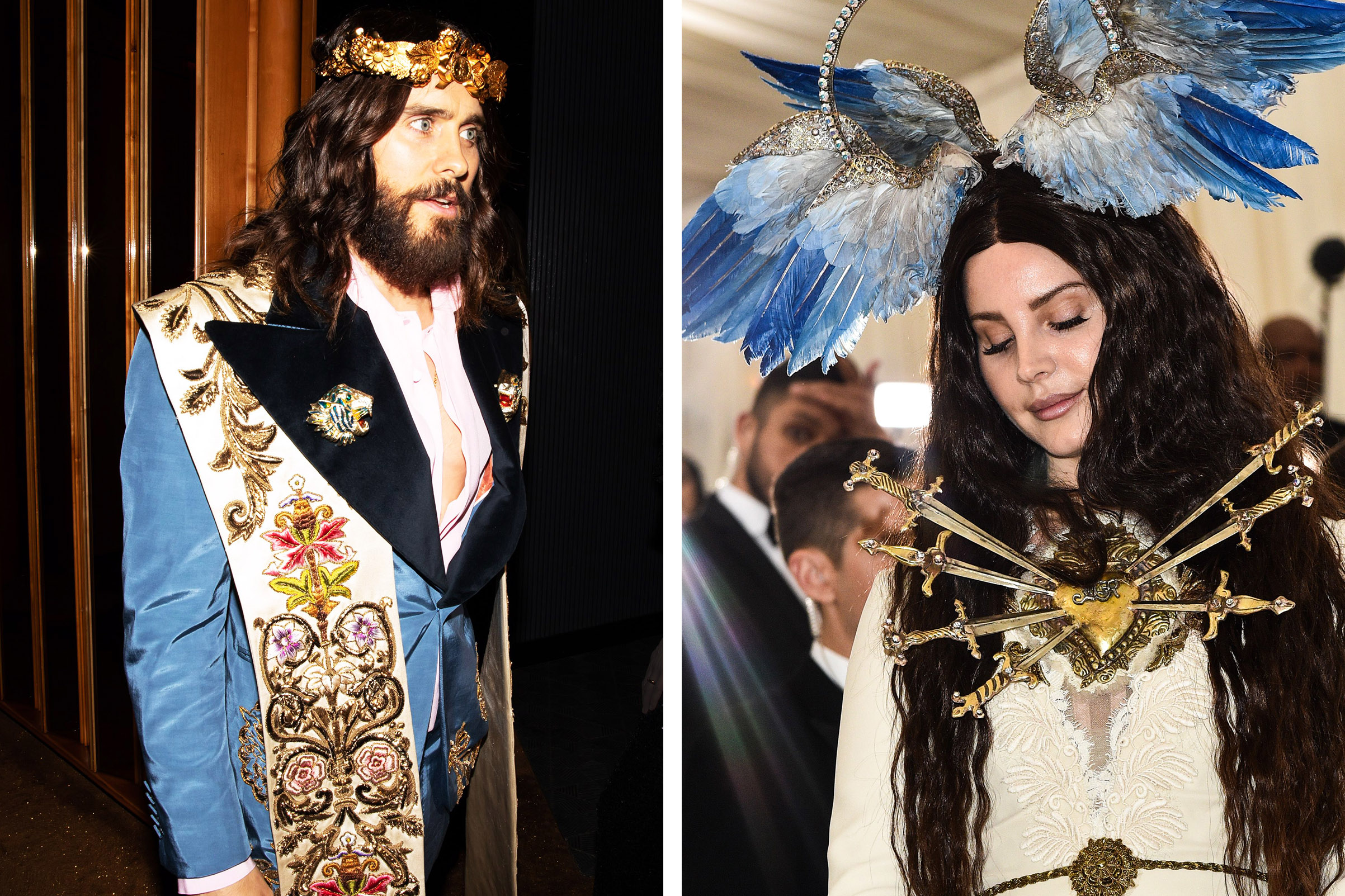 Jared Leto and Lana Del Rey