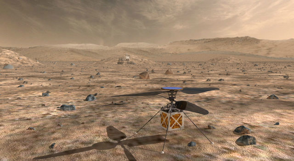 NASA is planning to send a helicopter to Mars in July of 2020