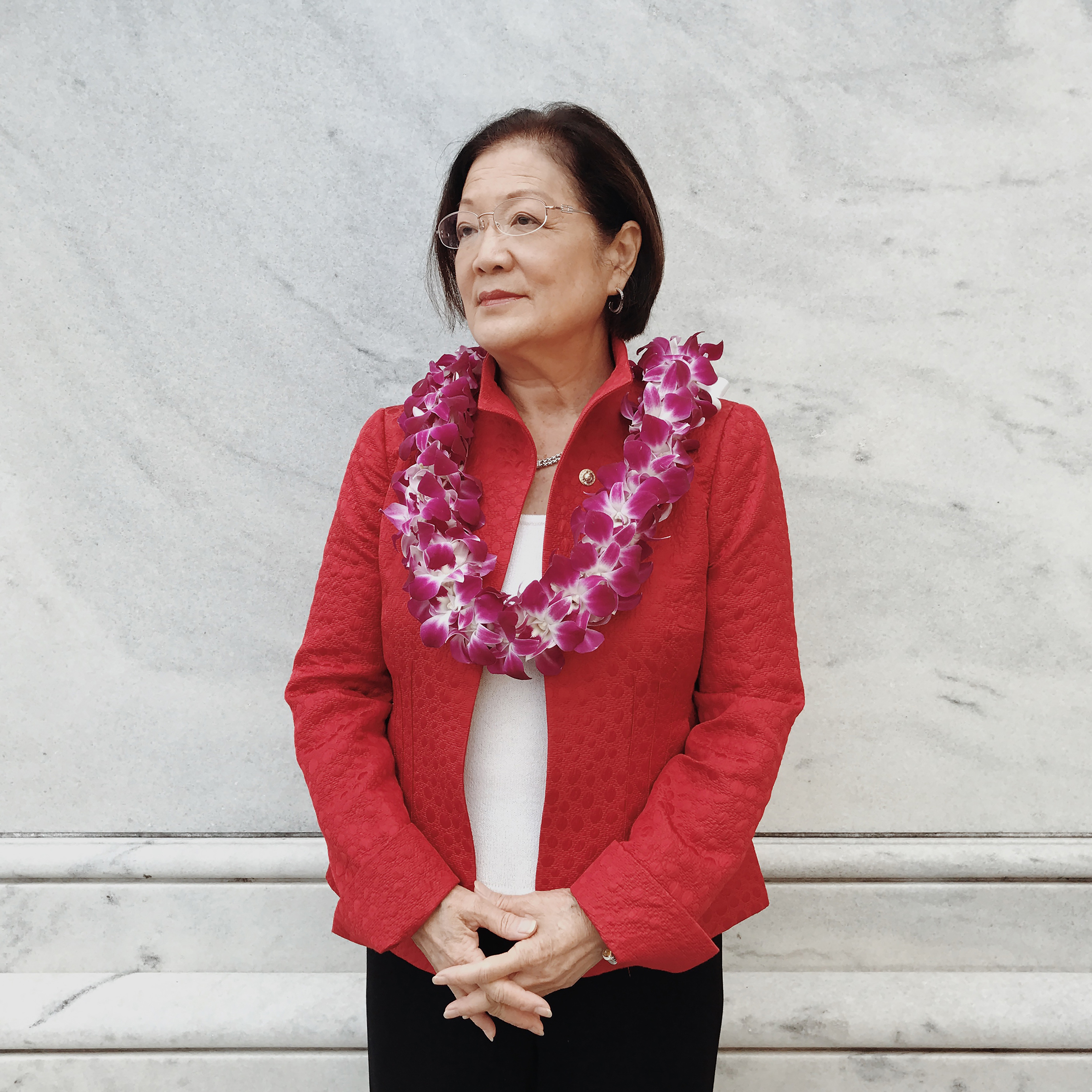 Hawaii's Mazie Hirono is the Senate's only immigrant and a thorn in the President's side. Hirono is the first Asian-American woman to serve in the Senate, the first Senator born in Japan and the first Senator from a Buddhist background.
