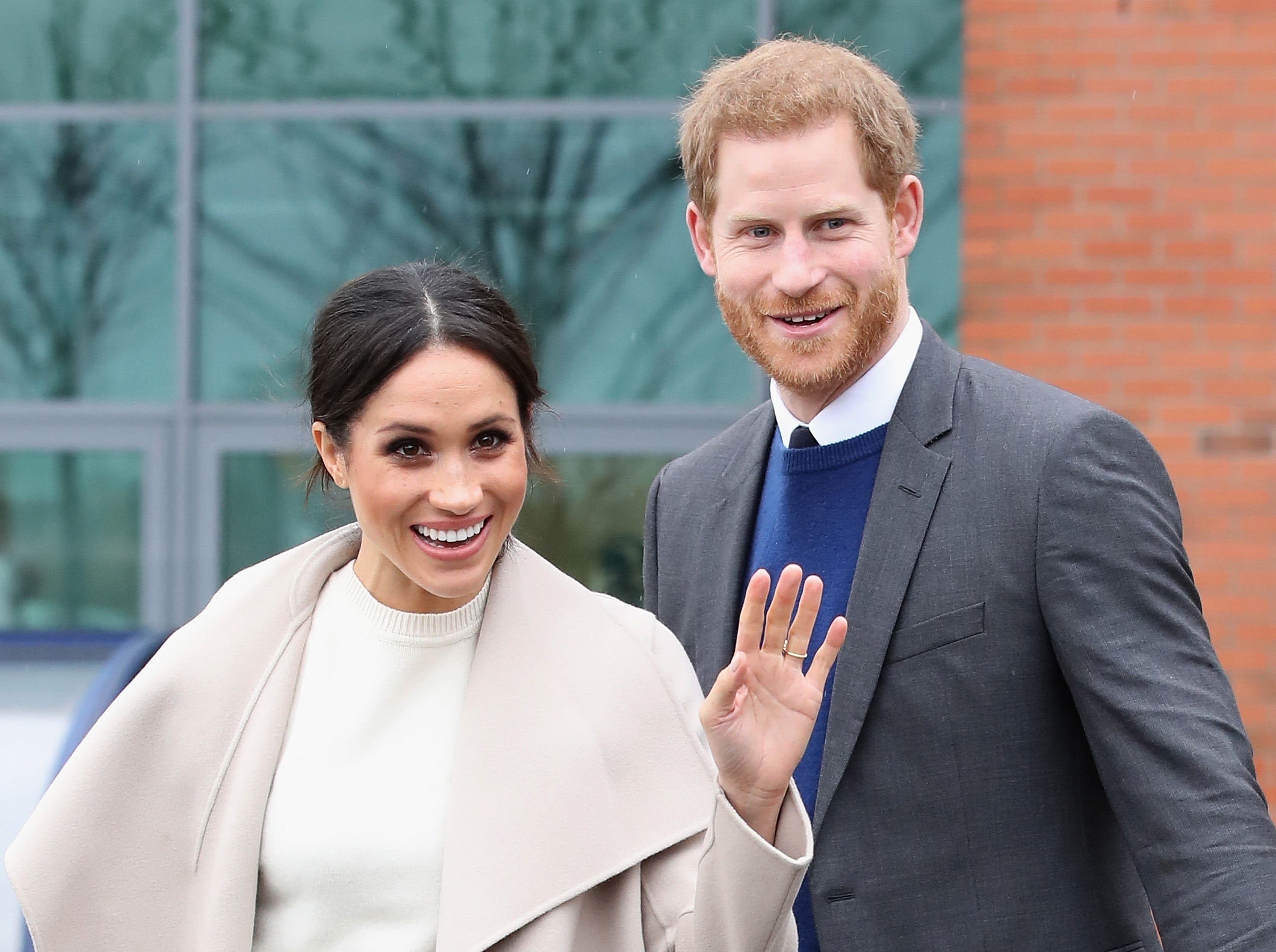 Prince Harry and Meghan Markle visit Catalyst Inc, a next generation science park, to meet young entrepreneurs and innovators on March 23, 2018 in Belfast, Nothern Ireland.
