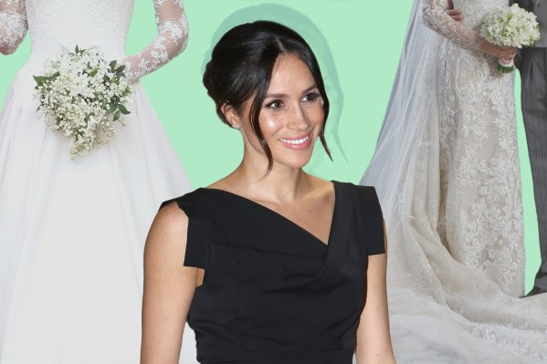 Best Royal Wedding Dresses to Inspire Meghan Markle | Time