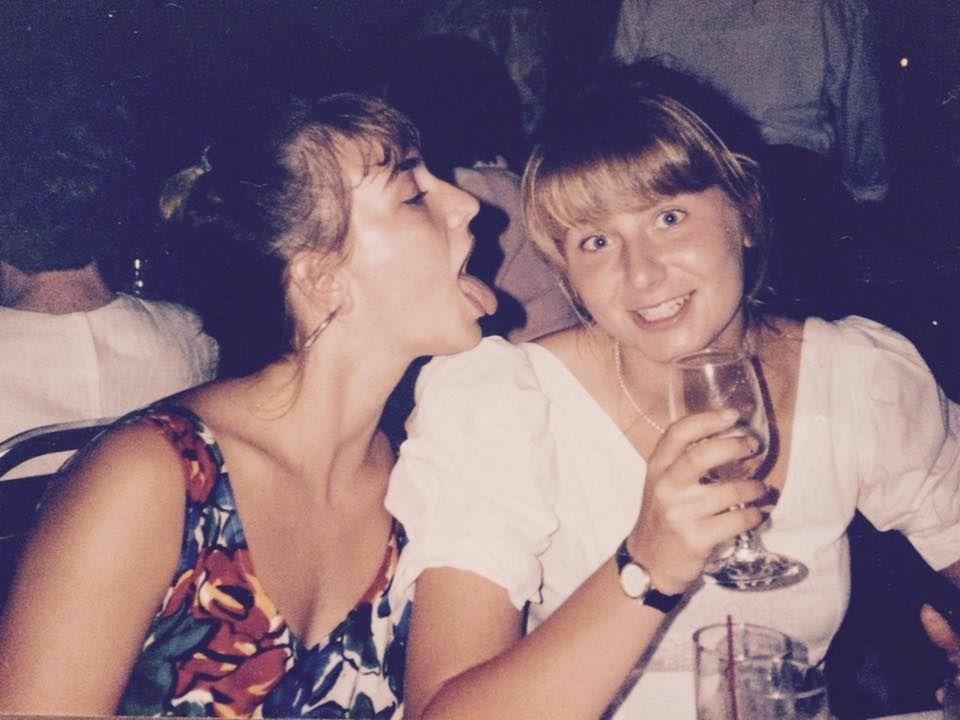 Nadia Bowers (R) and her sister, Alexandra  Sasha  Bowers (L).
