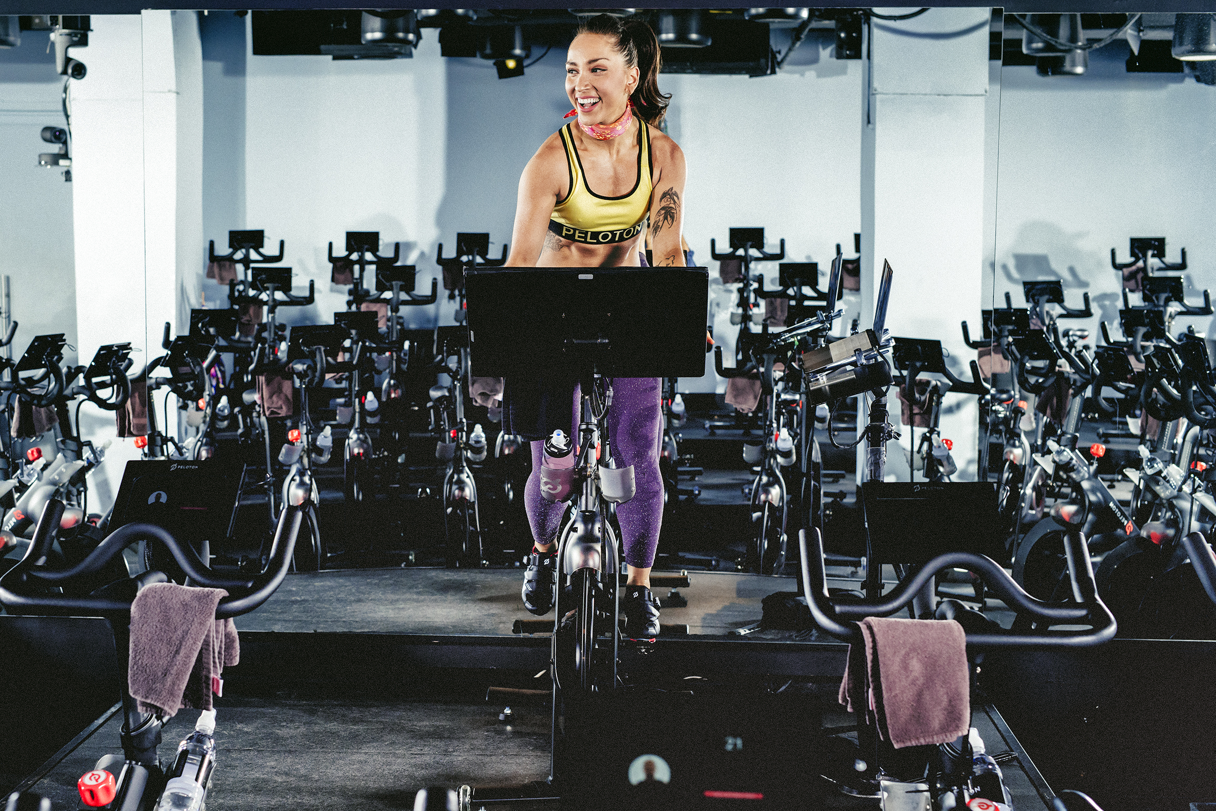 Robin Arzon, Peloton's VP of fitness programming, has a loyal following of fans on social media