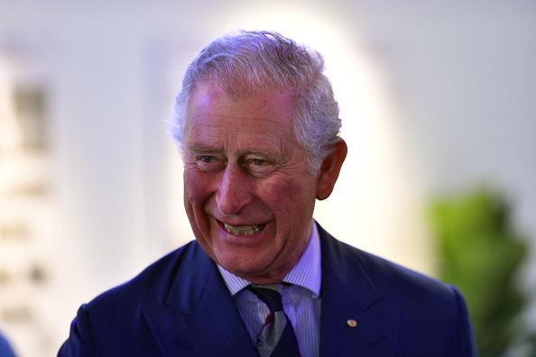 Prince Charles, Prince of Wales attends a community reception at the Royal Flying Doctors Service Tourist Facility in Darwin on April 9, 2018 in Darwin, Australia.