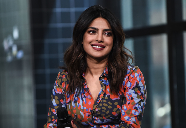 Priyanka Chopra attends the Build Series to discuss her ABC show 'Quantico' at Build Studio on April 26, 2018 in New York City.