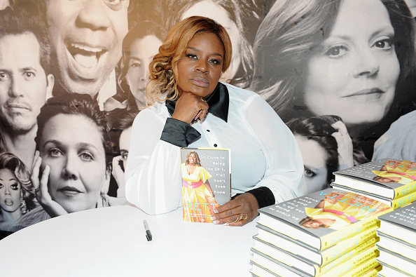 Retta signs her new book during Day Two of the Vulture Festival Presented By AT&T at Milk Studios on May 20, 2018 in New York City.