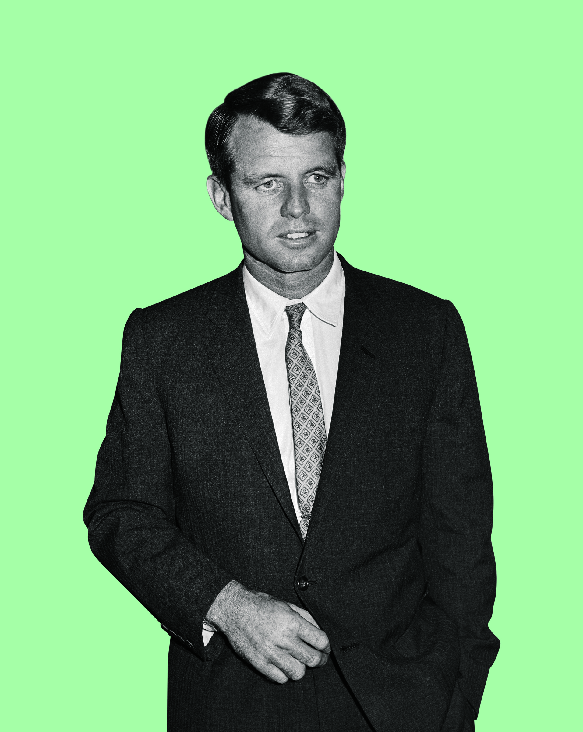 Robert Kennedy, brother of John F. Kennedy, attorney general and U.S. senator.
