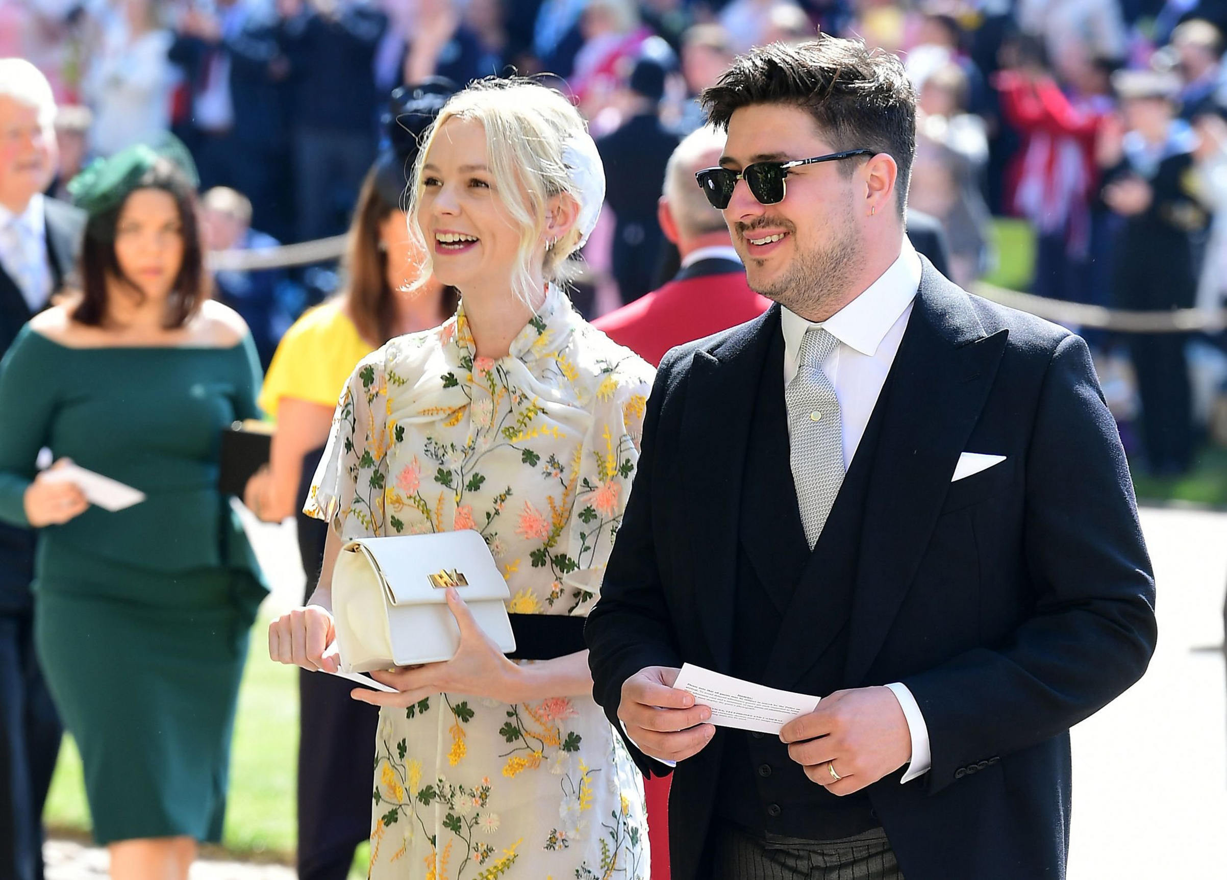 All The Celebrity Guest Arrivals At The Royal Wedding Time