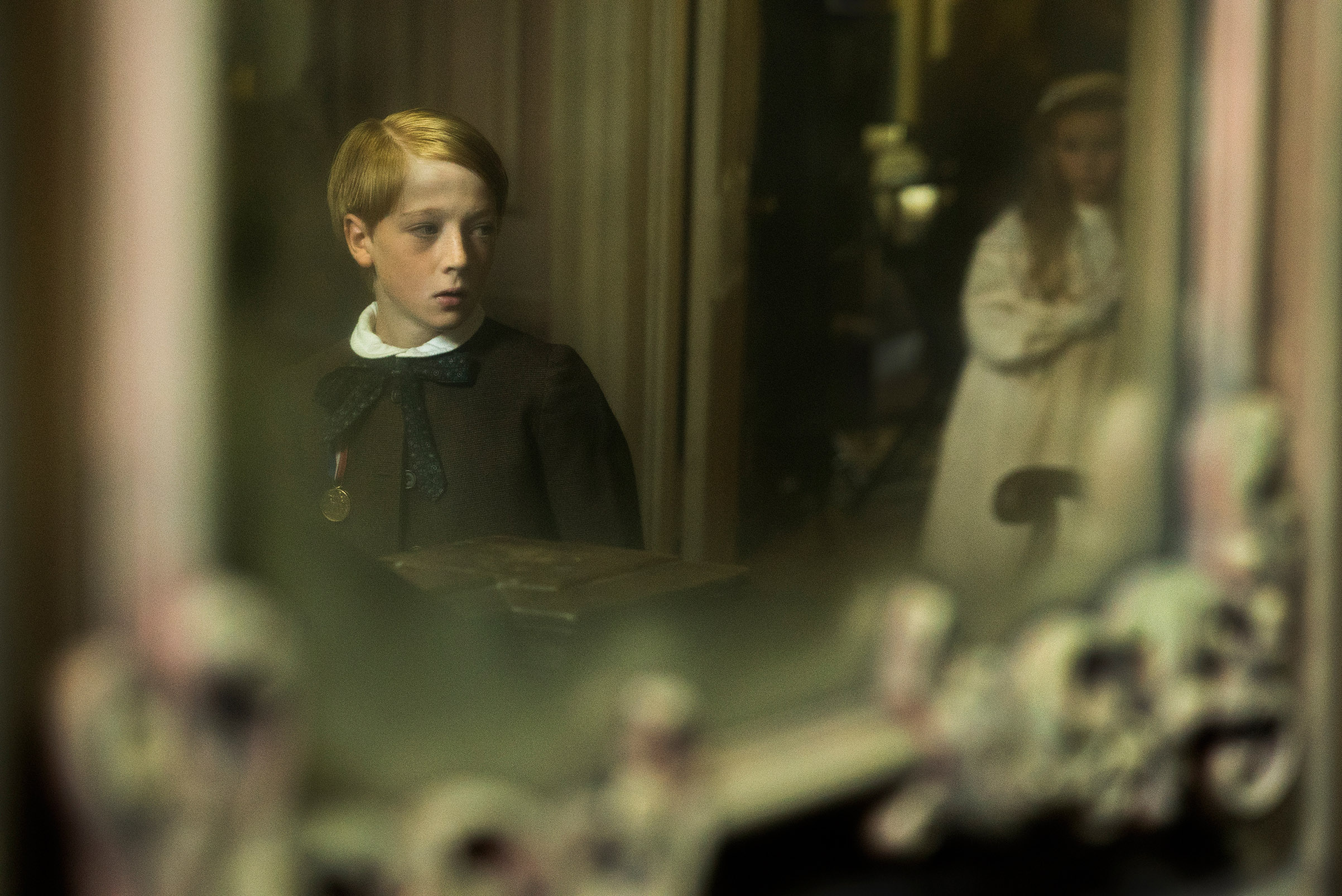 Tipper Seifert-Cleveland and Oliver Zetterström in <i>The Little Stranger</i>.