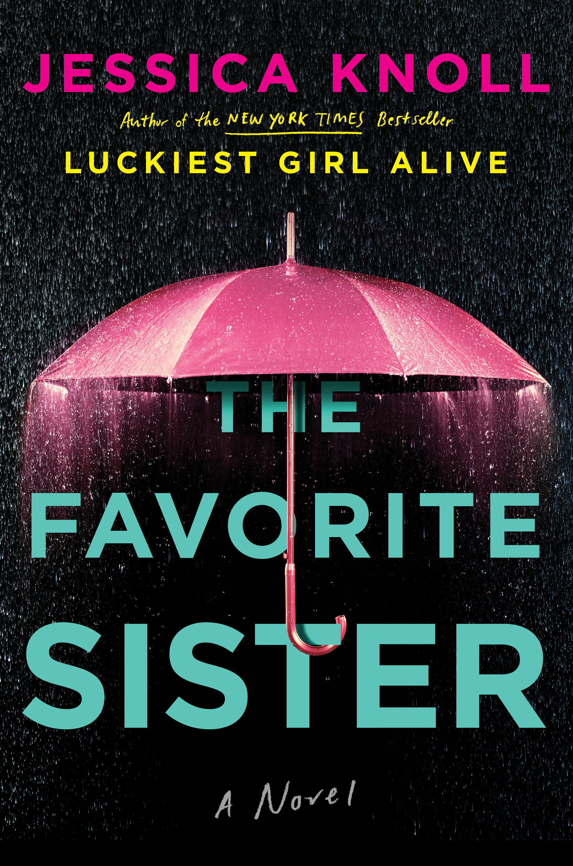 The Favorite Sister by Jessica Knoll.