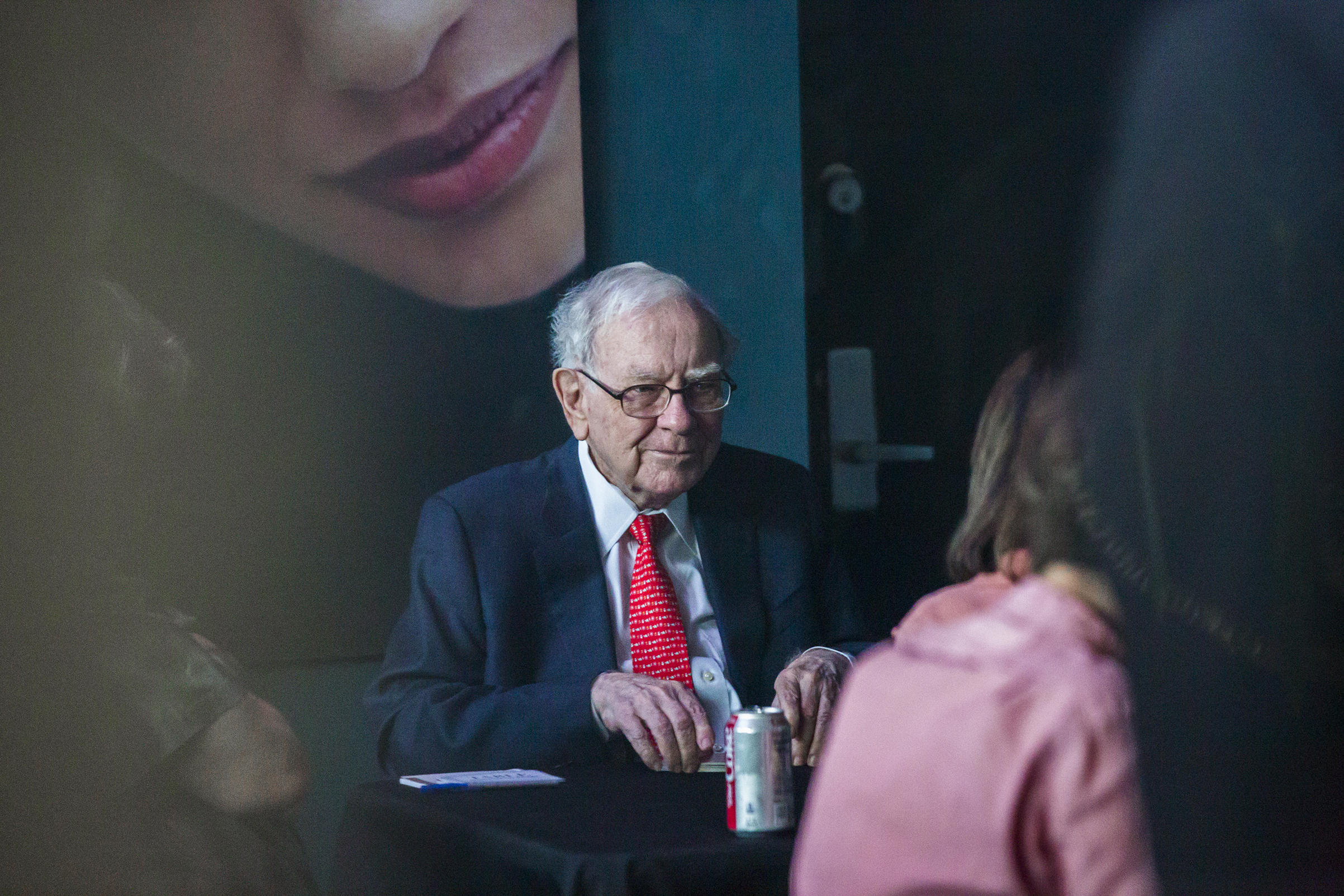 Warren Buffet, chairman and chief executive officer of Berkshire Hathaway Inc., at the Berkshire Hathaway annual shareholders meeting in Omaha, Nebraska, U.S., on Sunday, May 6, 2018. Buffett said he doesn't want Berkshire Hathaway Inc. being a leader on cyber insurance because neither he nor others in the industry really know the risk.