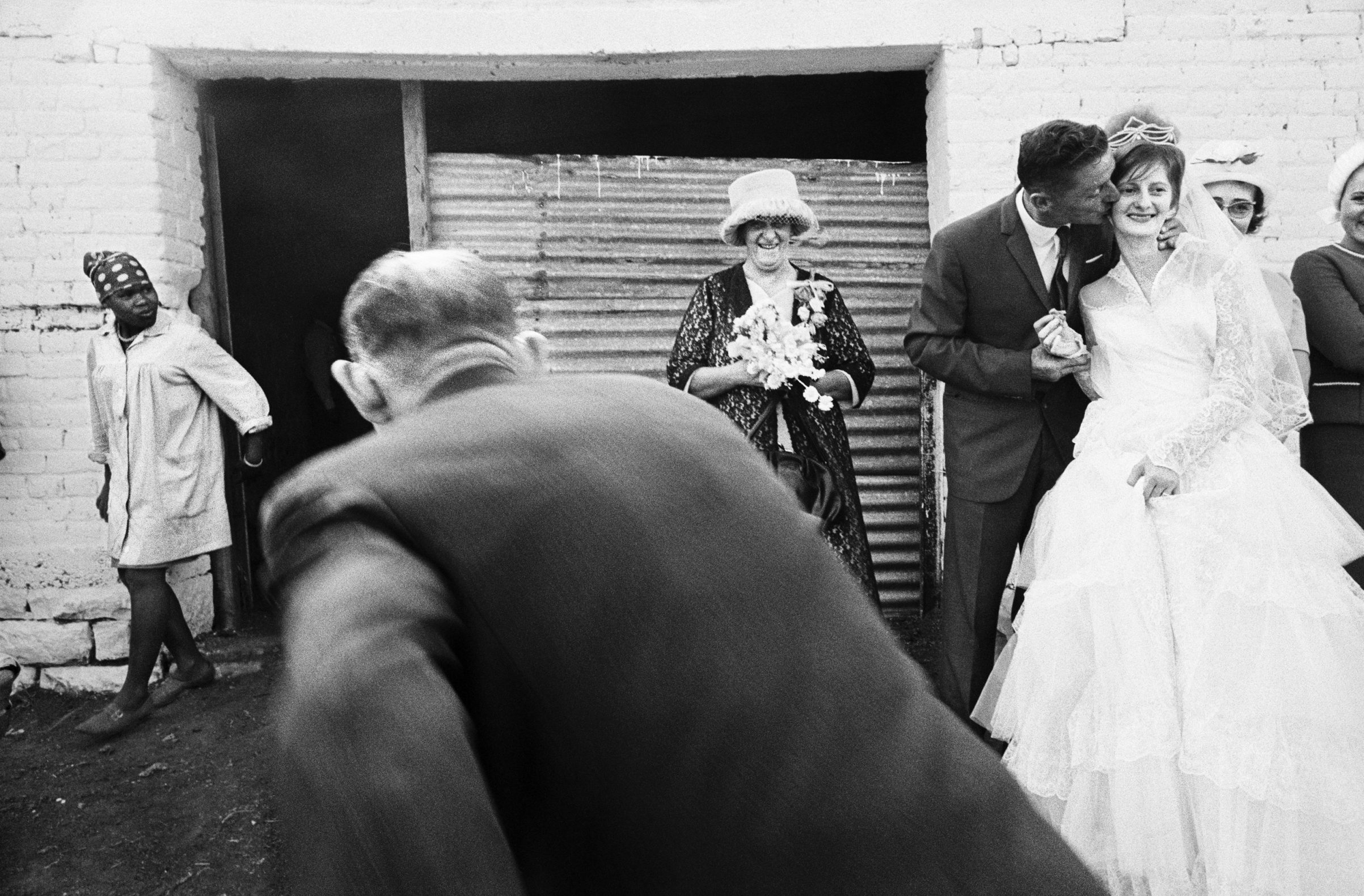 Wedding on a farm in the Barkly East district, Cape Province (Eastern Cape). December 1966