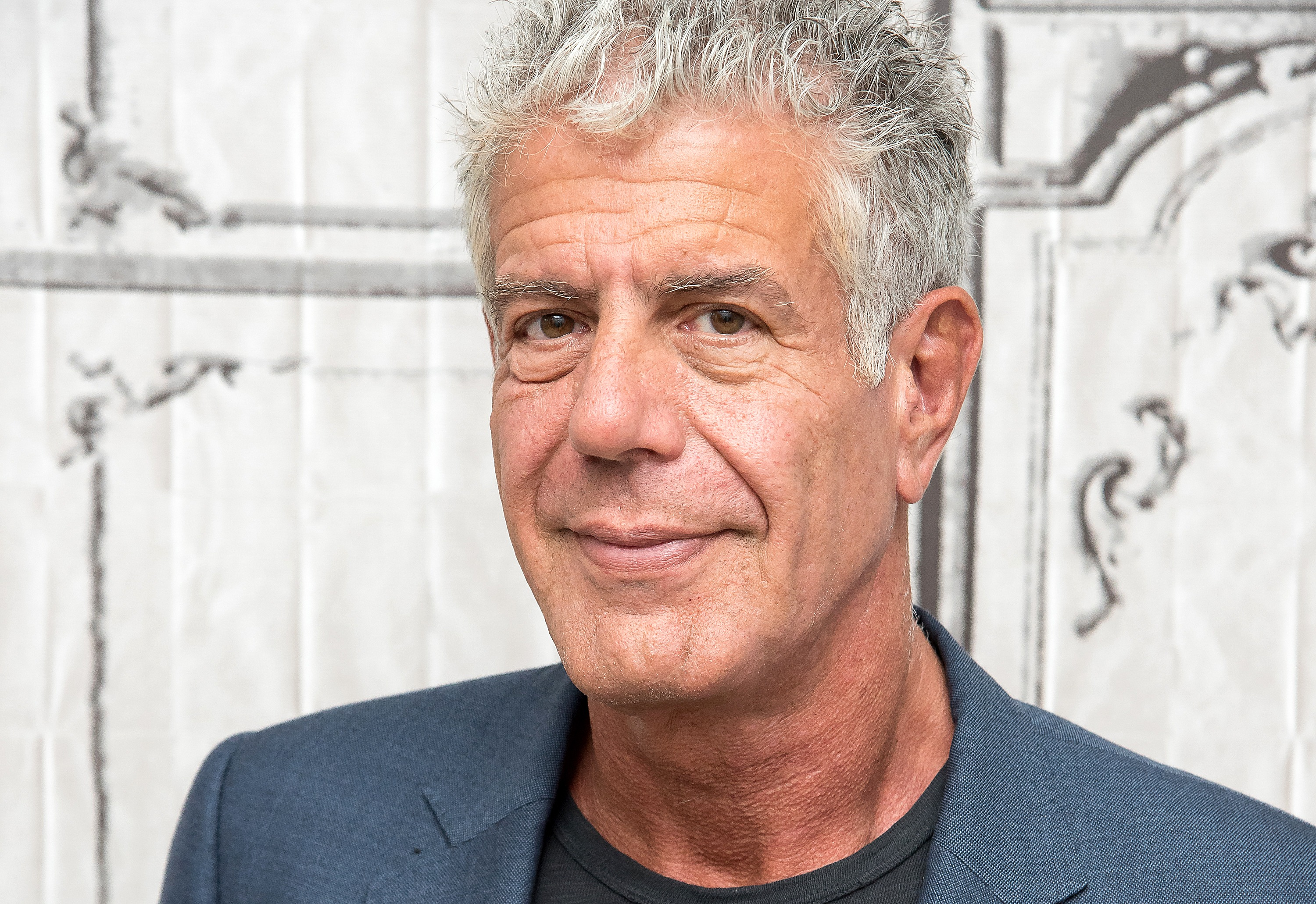 Anthony Bourdain visits the Build Series to discuss  Raw Craft  at AOL HQ on November 2, 2016 in New York City.