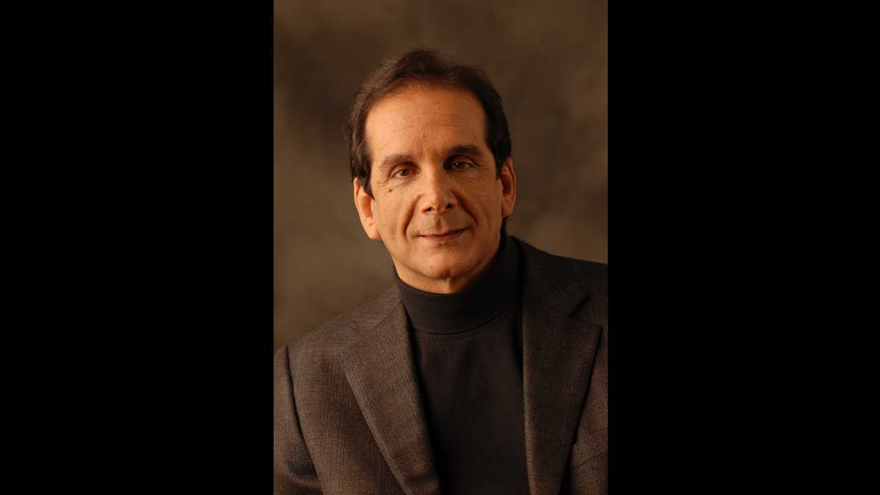 Columnist Charles Krauthammer revealed he has terminal cancer and only weeks left to live