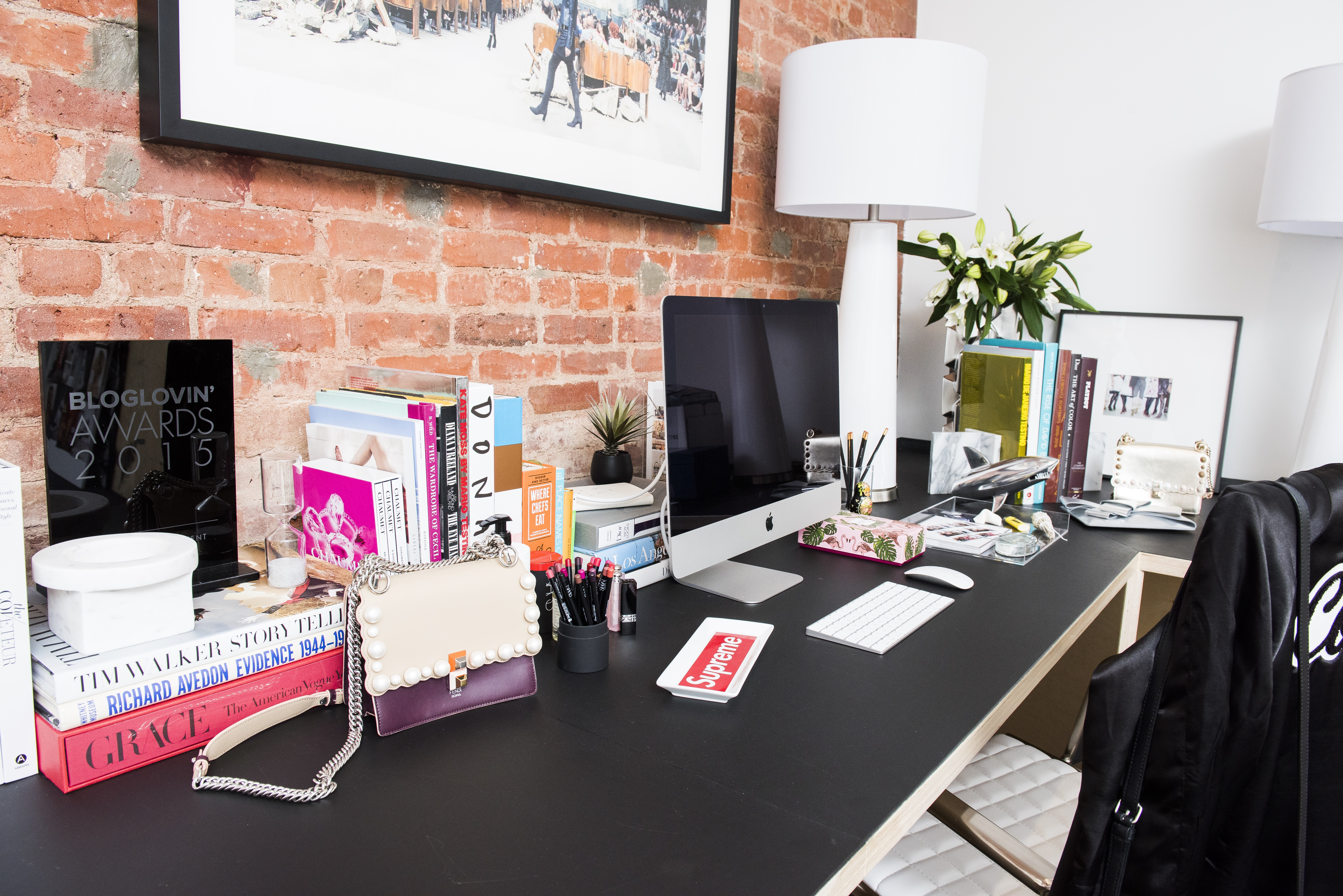 Coveteur's new office, which was remodeled by Z Gallerie.