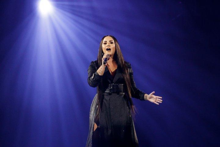 Demi Lovato Performs in Concert in Barcelona