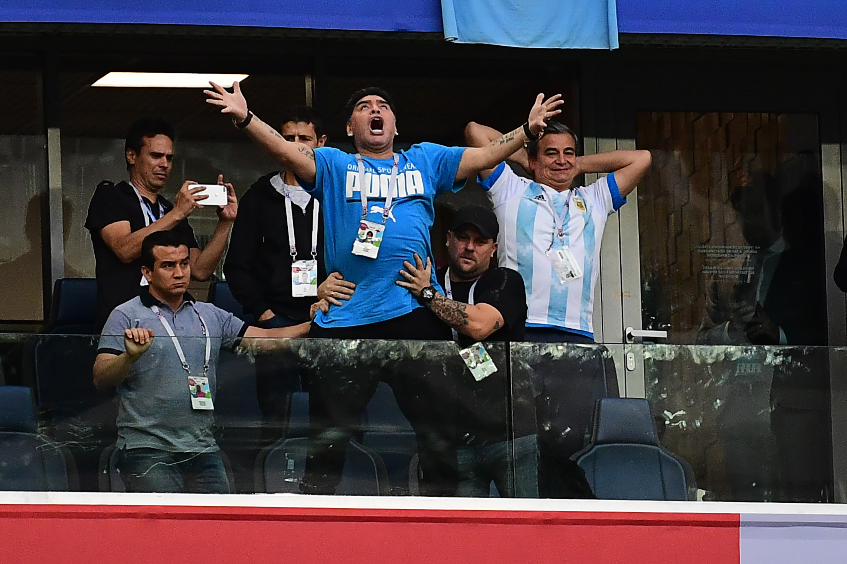 This Icon's Reactions Watching the World Cup Are Pure Drama | Time