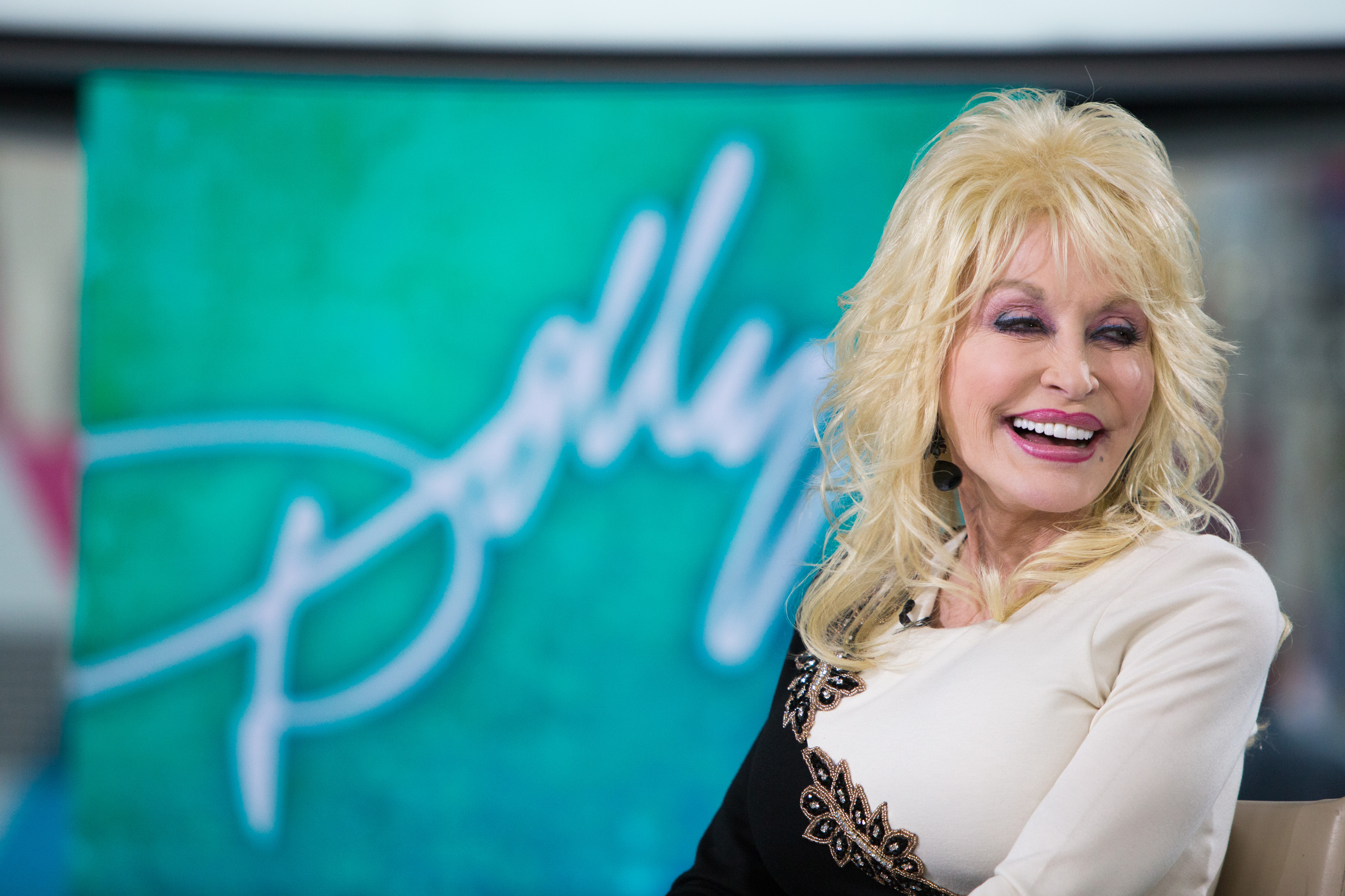 Dolly Parton pictured on Monday, October 16, 2017.