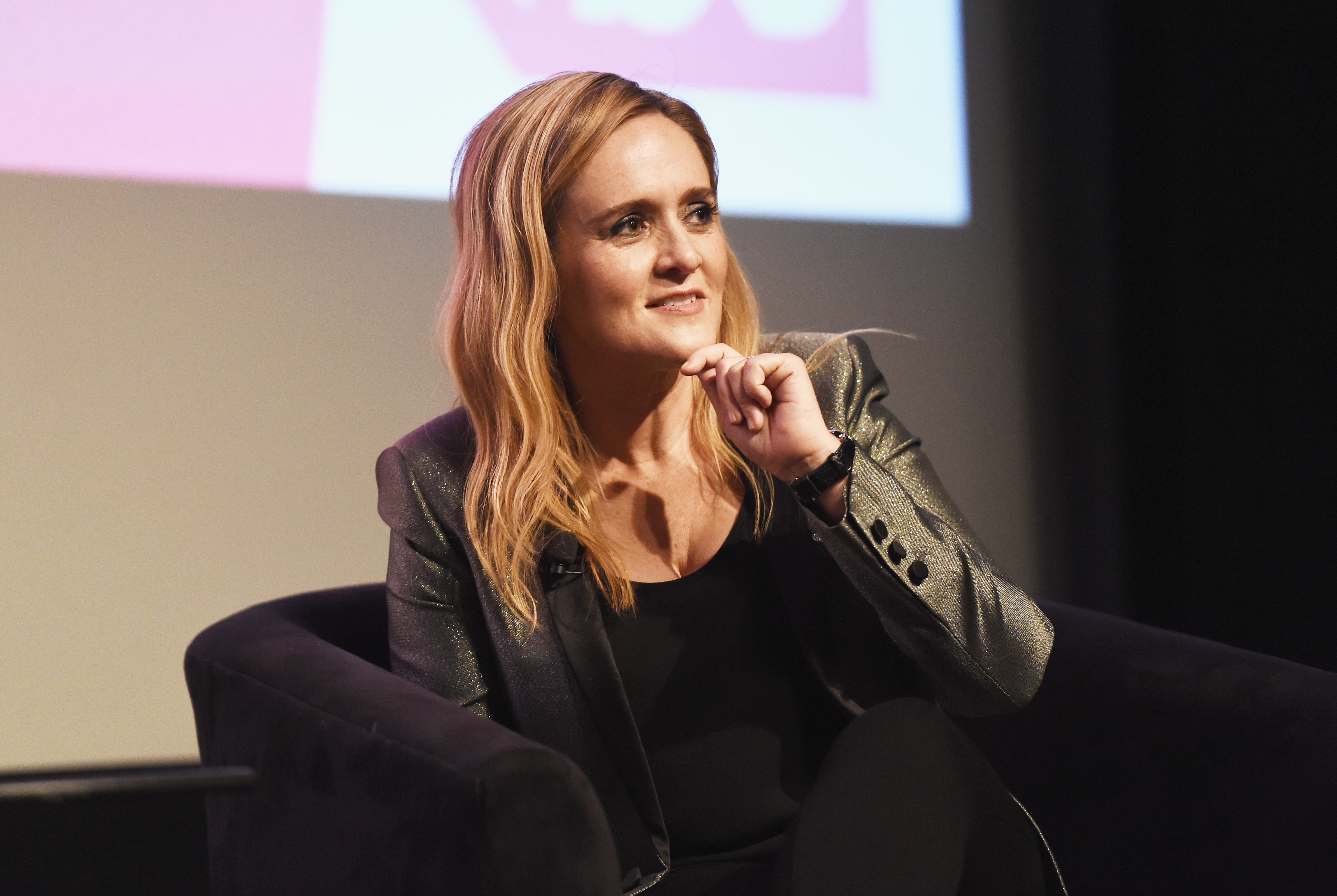 Samantha Bee attends TBS'  Full Frontal With Samantha Bee  FYC Event at the Writers Guild Theater on May 24, 2018 in Beverly Hills, California.