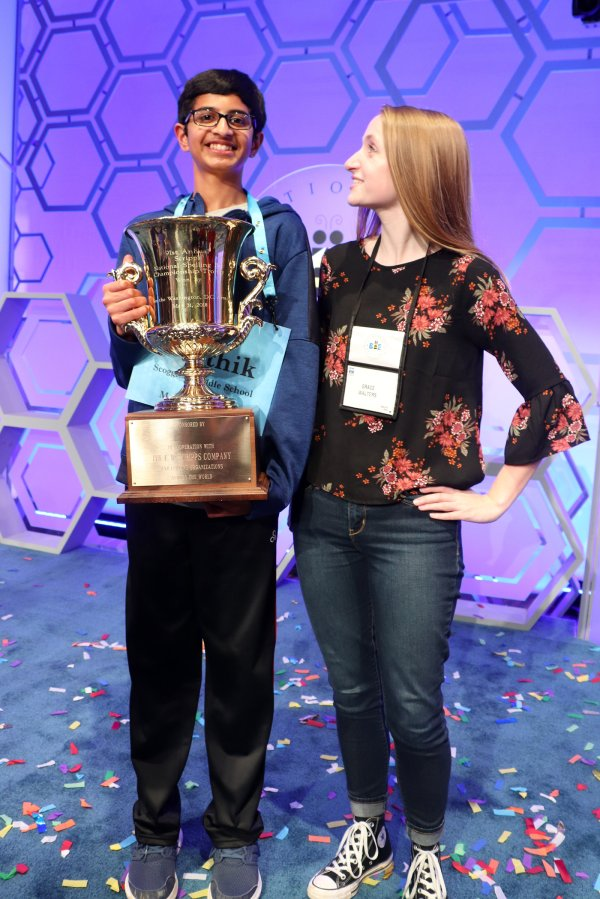 Scripps National Spelling Bee Word List 2019 2020.Here S What Karthik Nemmani Did To Win The Spelling Bee Time